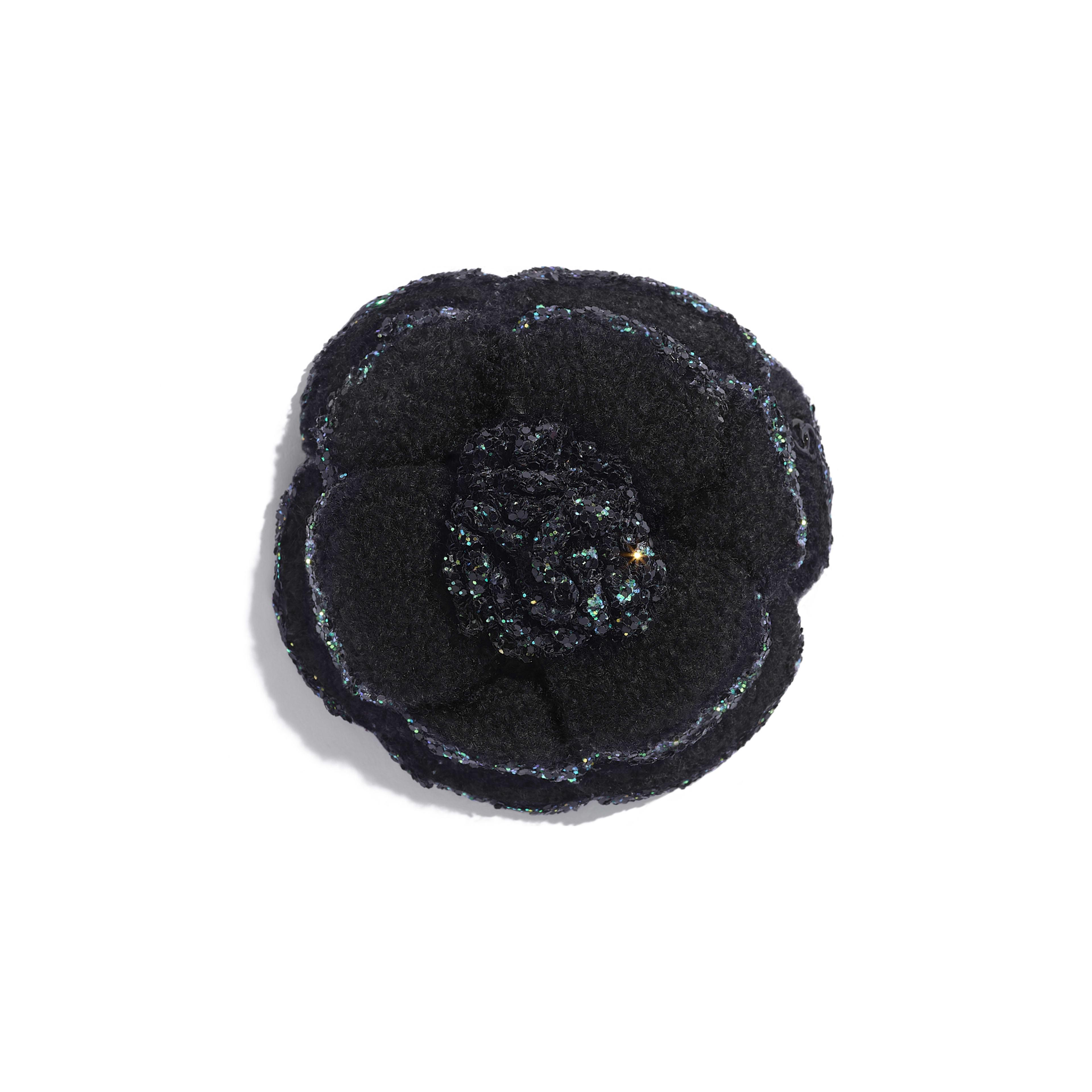 Camellia - Black - Tweed - Default view - see full sized version