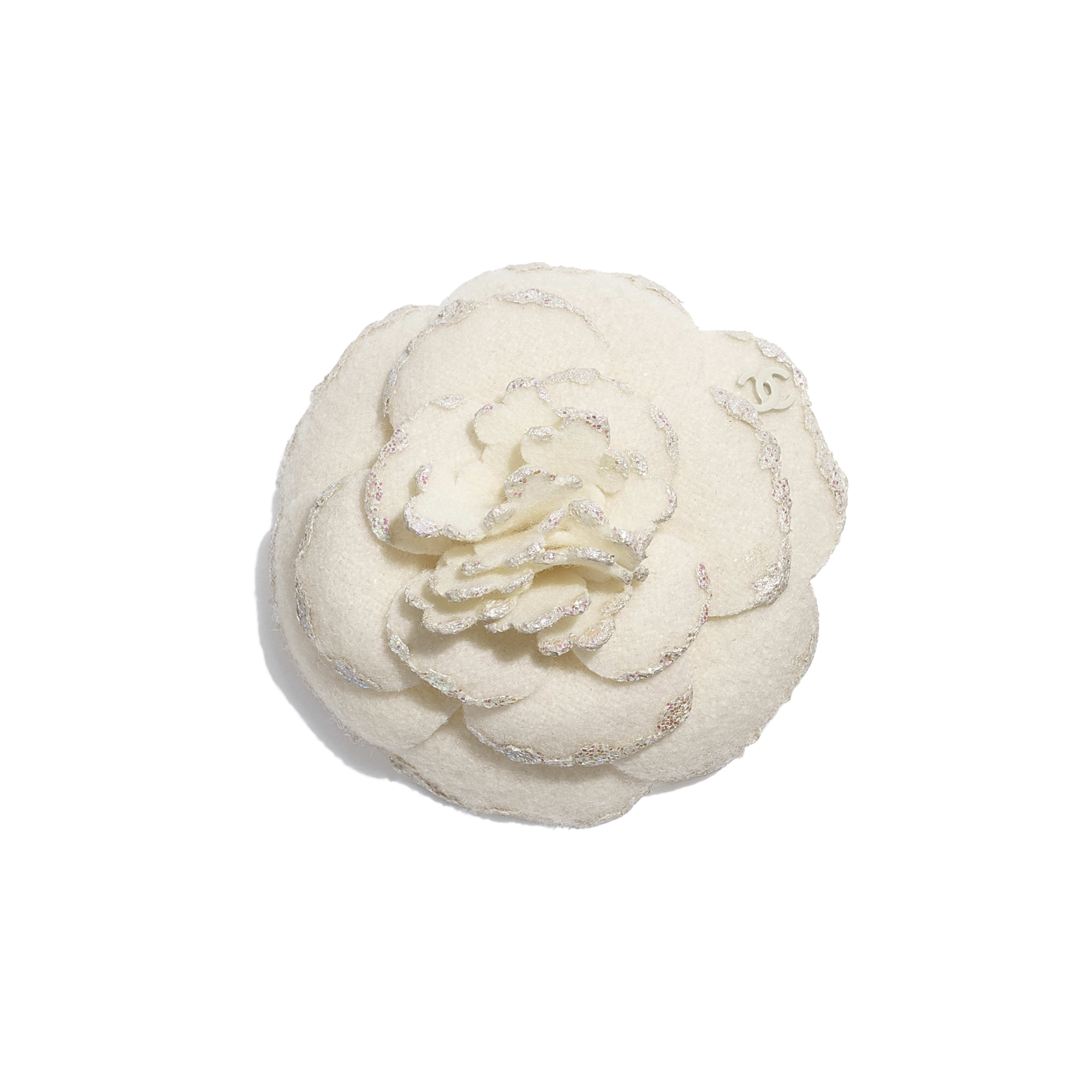 Camellia - Ivory - Wool Tweed - Default view - see full sized version