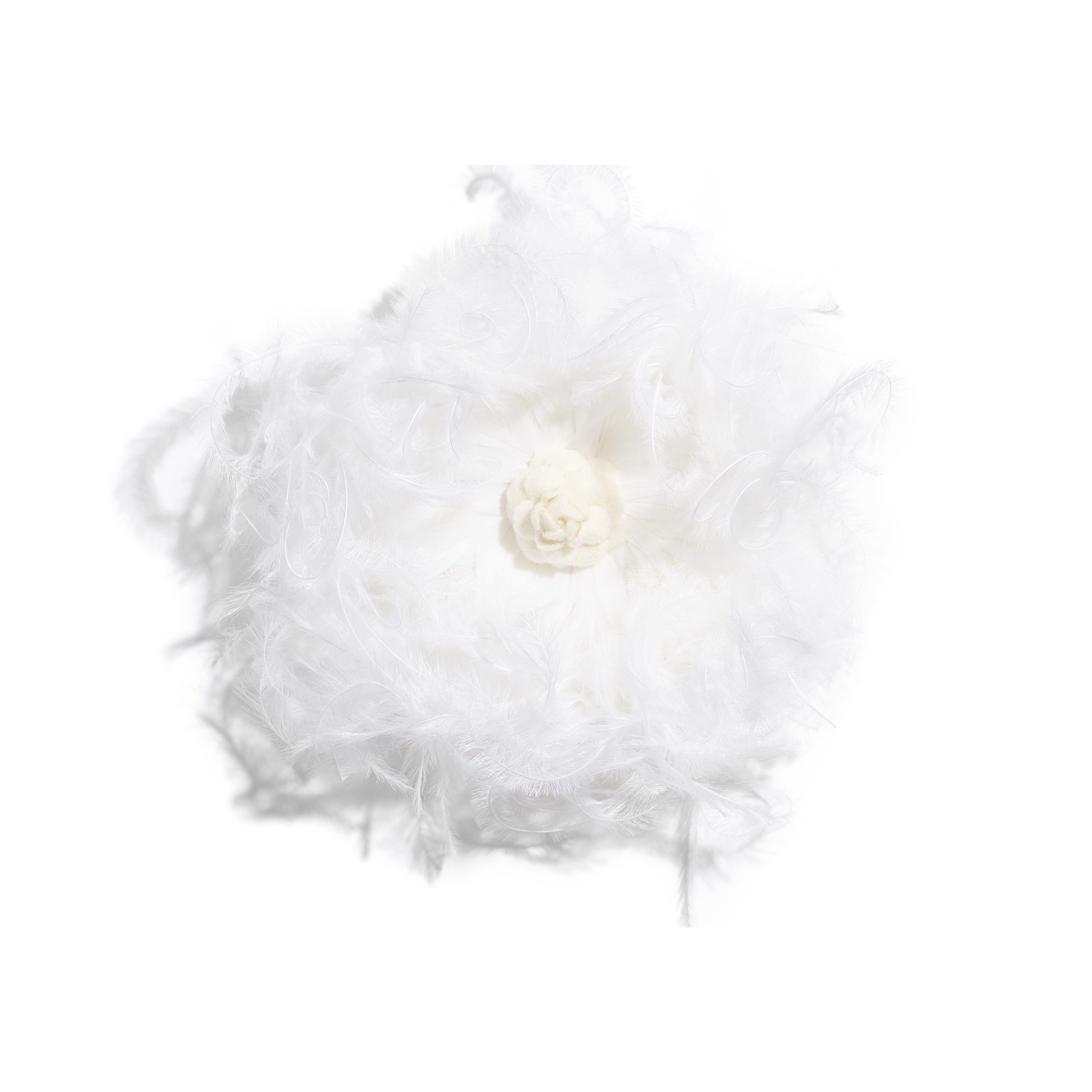 Camellia - White - Feathers & Wool - Default view - see full sized version