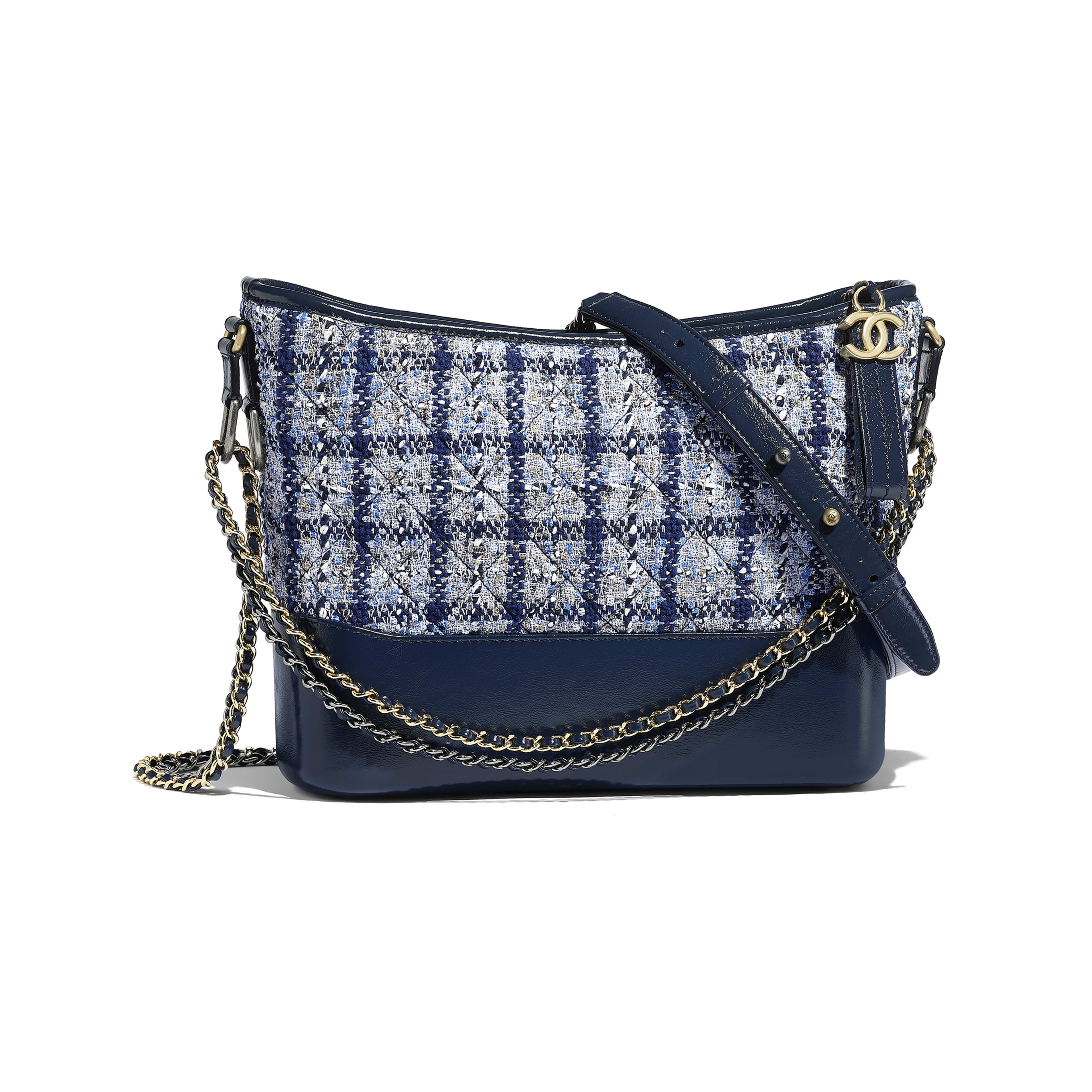 4a90f4f97374 CHANEL CHANEL S GABRIELLE Hobo Bag - Navy ...