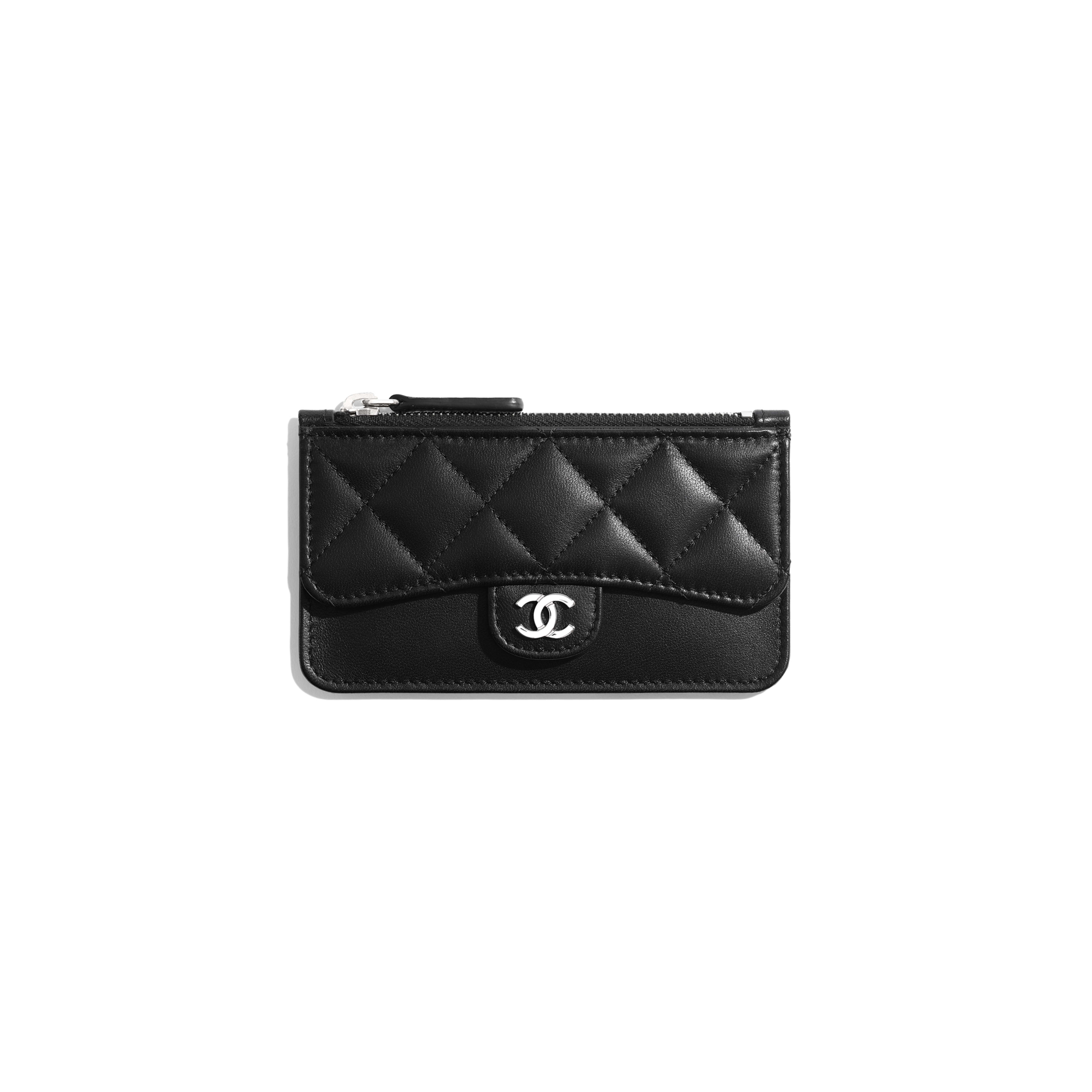 Classic Card Holder - Black - Lambskin - Default view - see full sized version