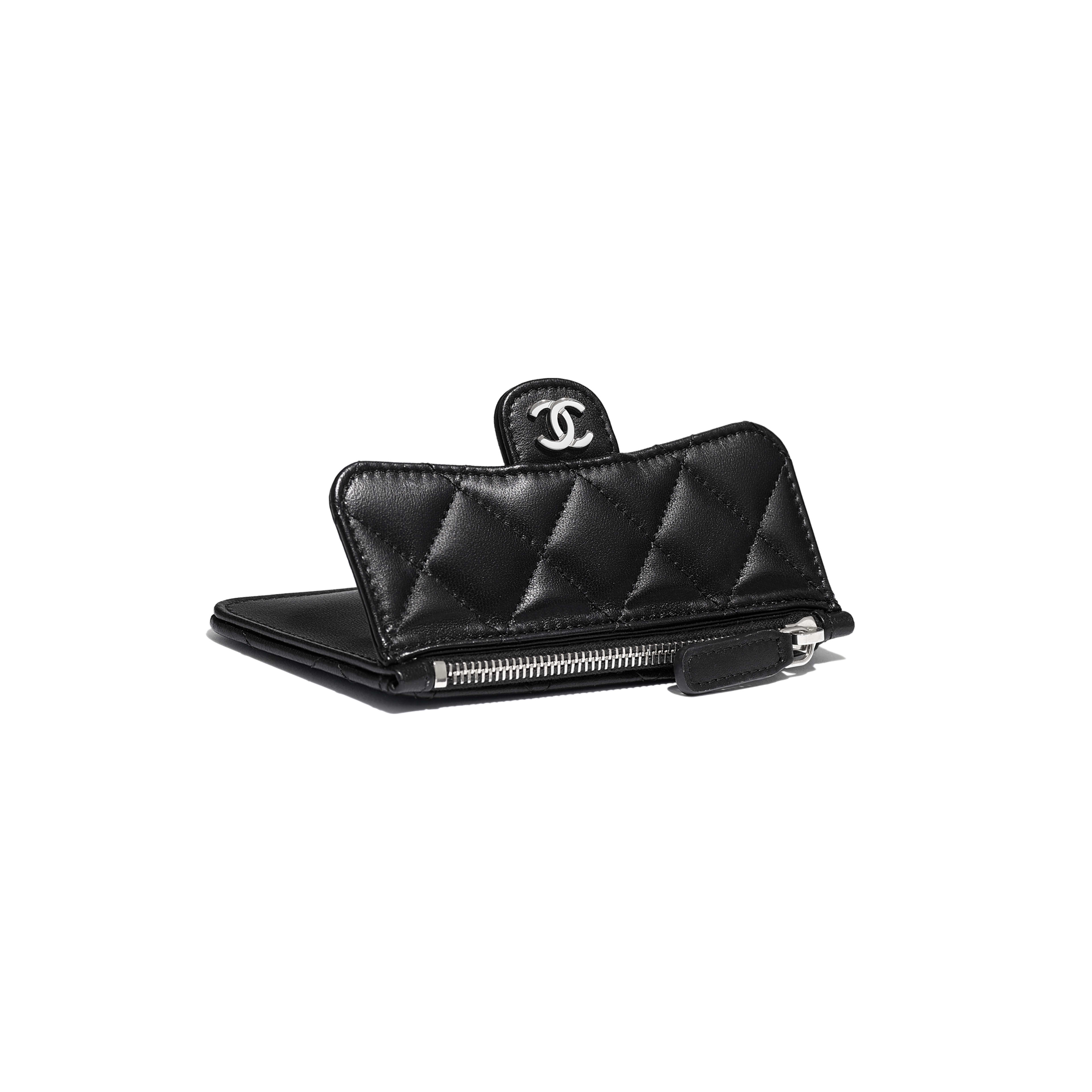Classic Card Holder - Black - Lambskin - Extra view - see full sized version
