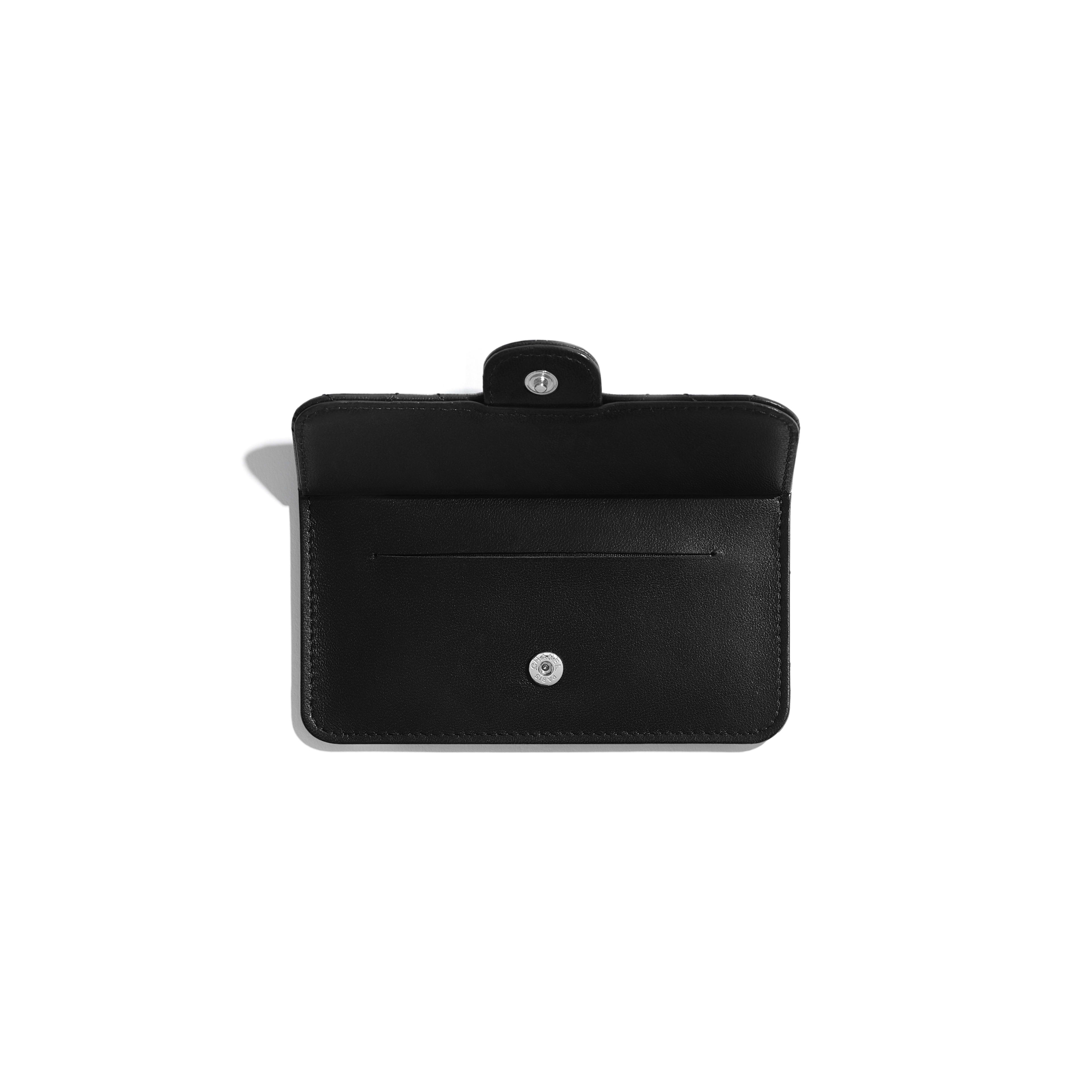 Classic Card Holder - Black - Lambskin - Other view - see full sized version