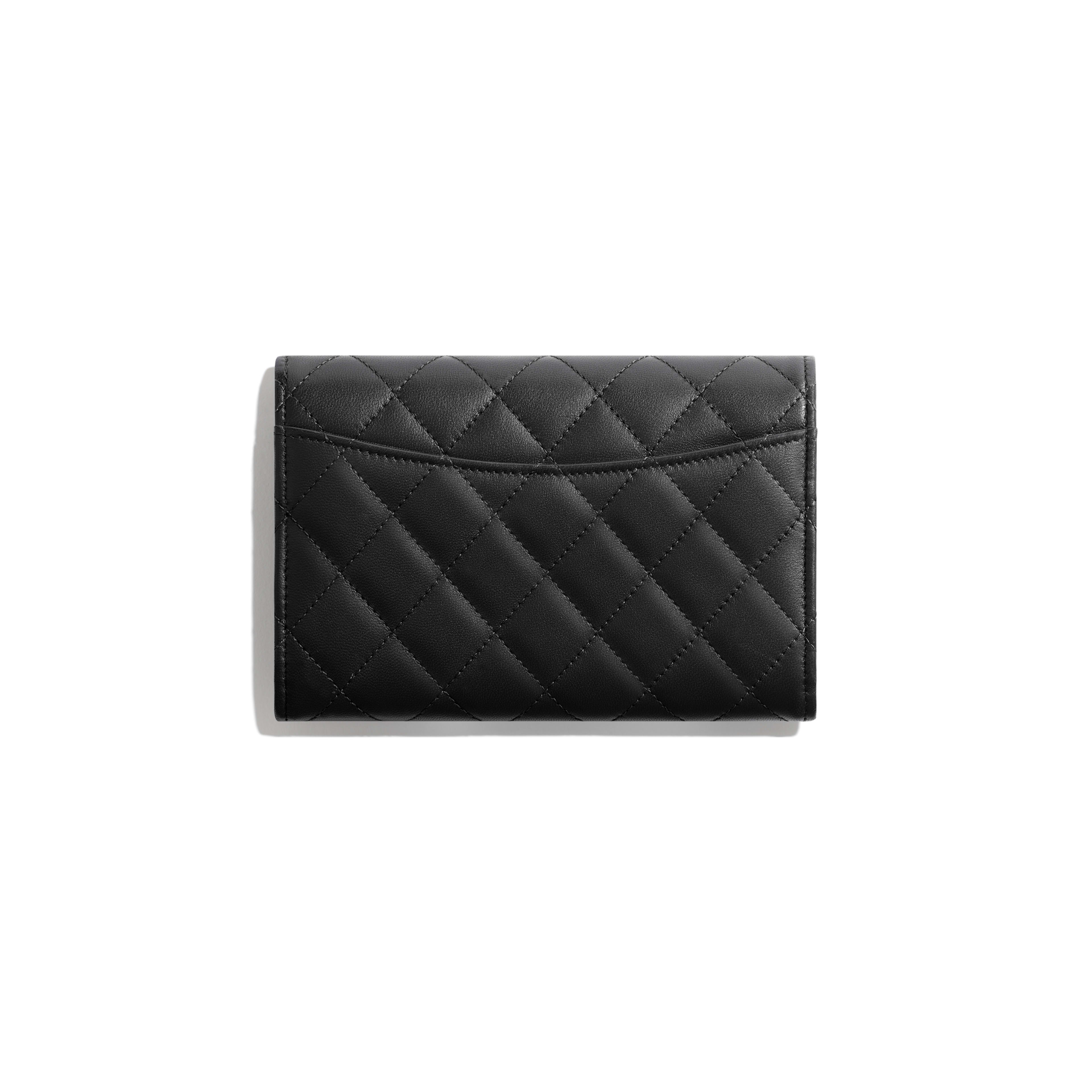 Classic Flap Wallet - Black - Lambskin - Alternative view - see full sized version