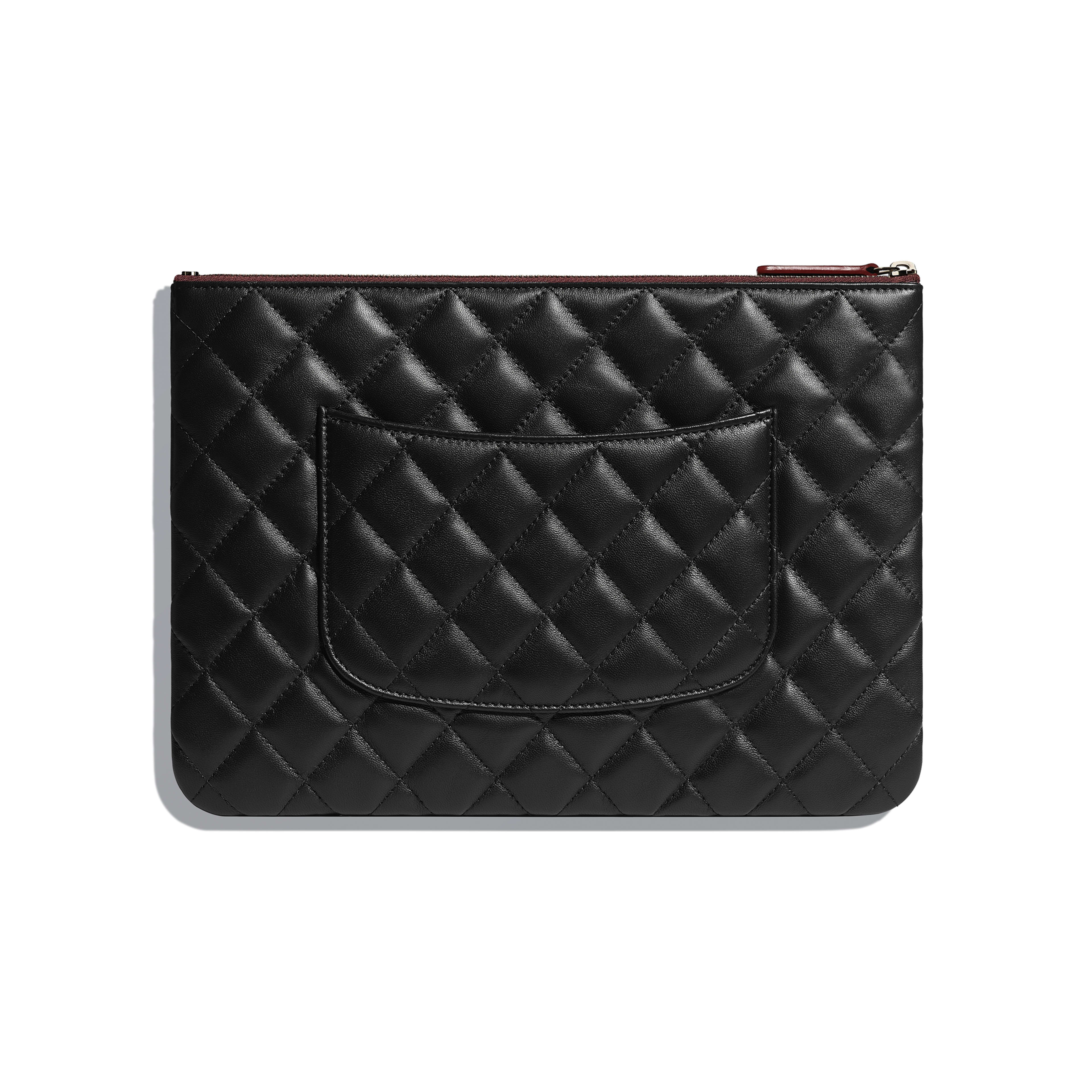 Classic Pouch - Black - Lambskin - Alternative view - see full sized version