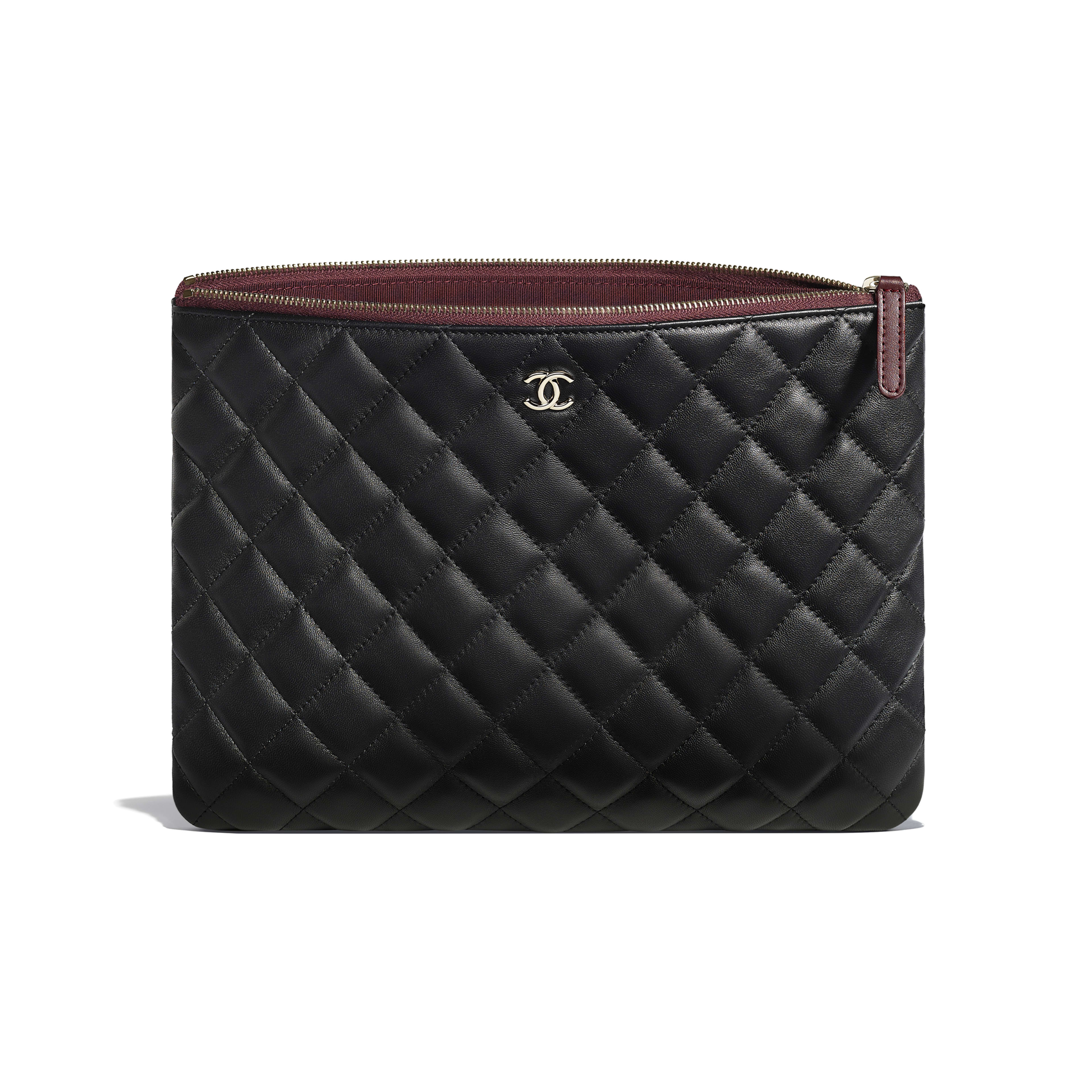 Classic Pouch - Black - Lambskin - Other view - see full sized version