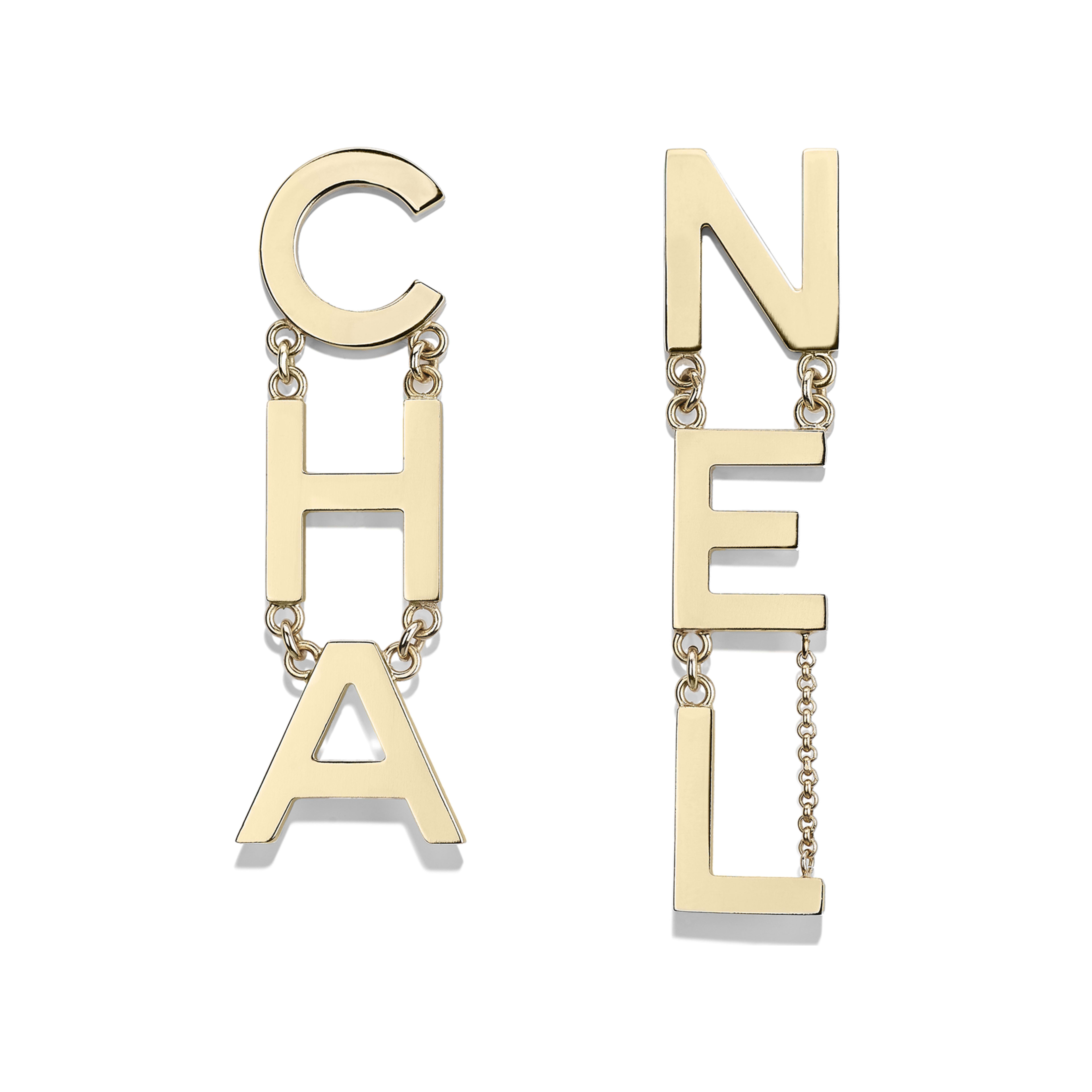 Earrings - Gold - Metal - Default view - see full sized version