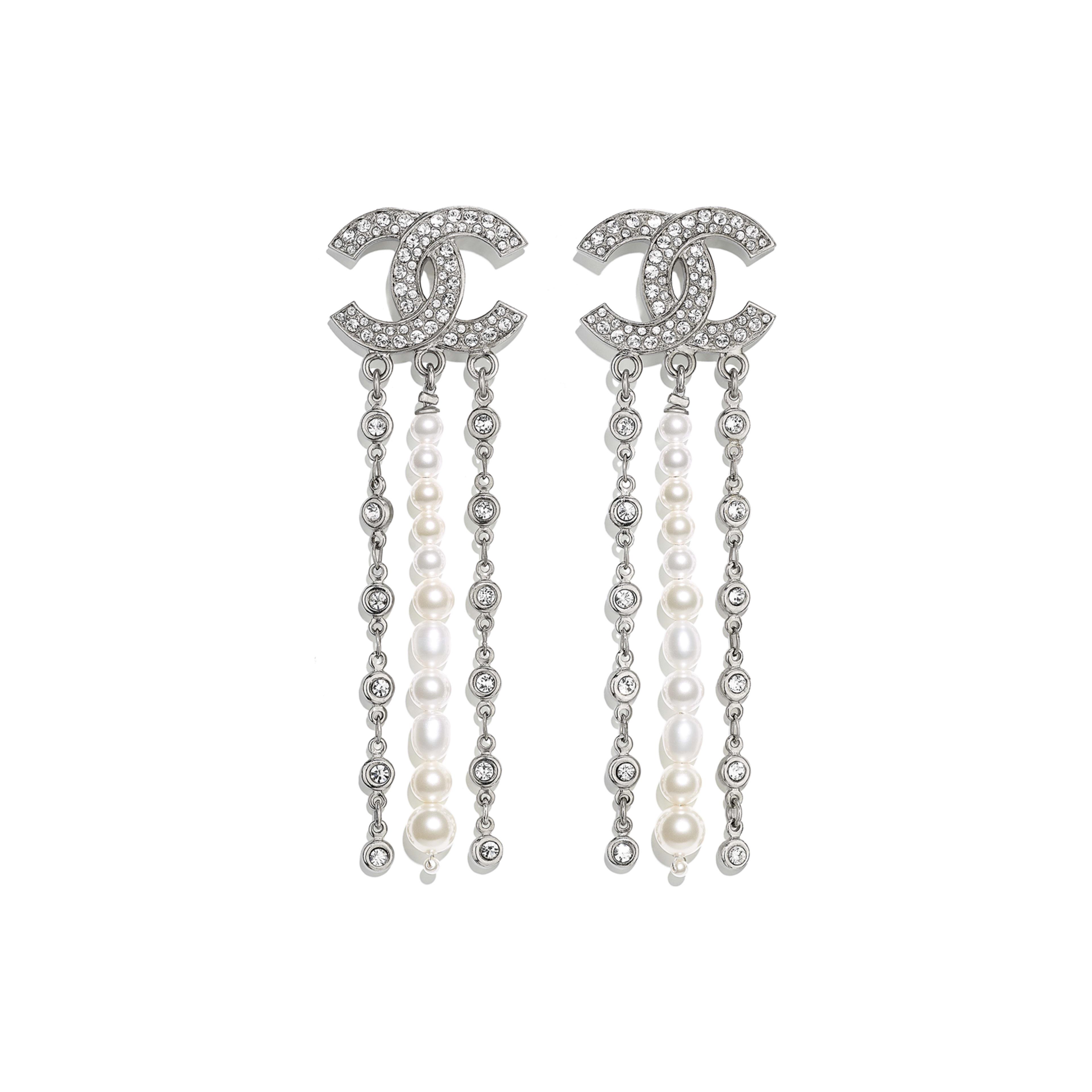 grande vendita 7366f 27346 Metallo, perle di fiume, perle in pasta di vetro & strass ...