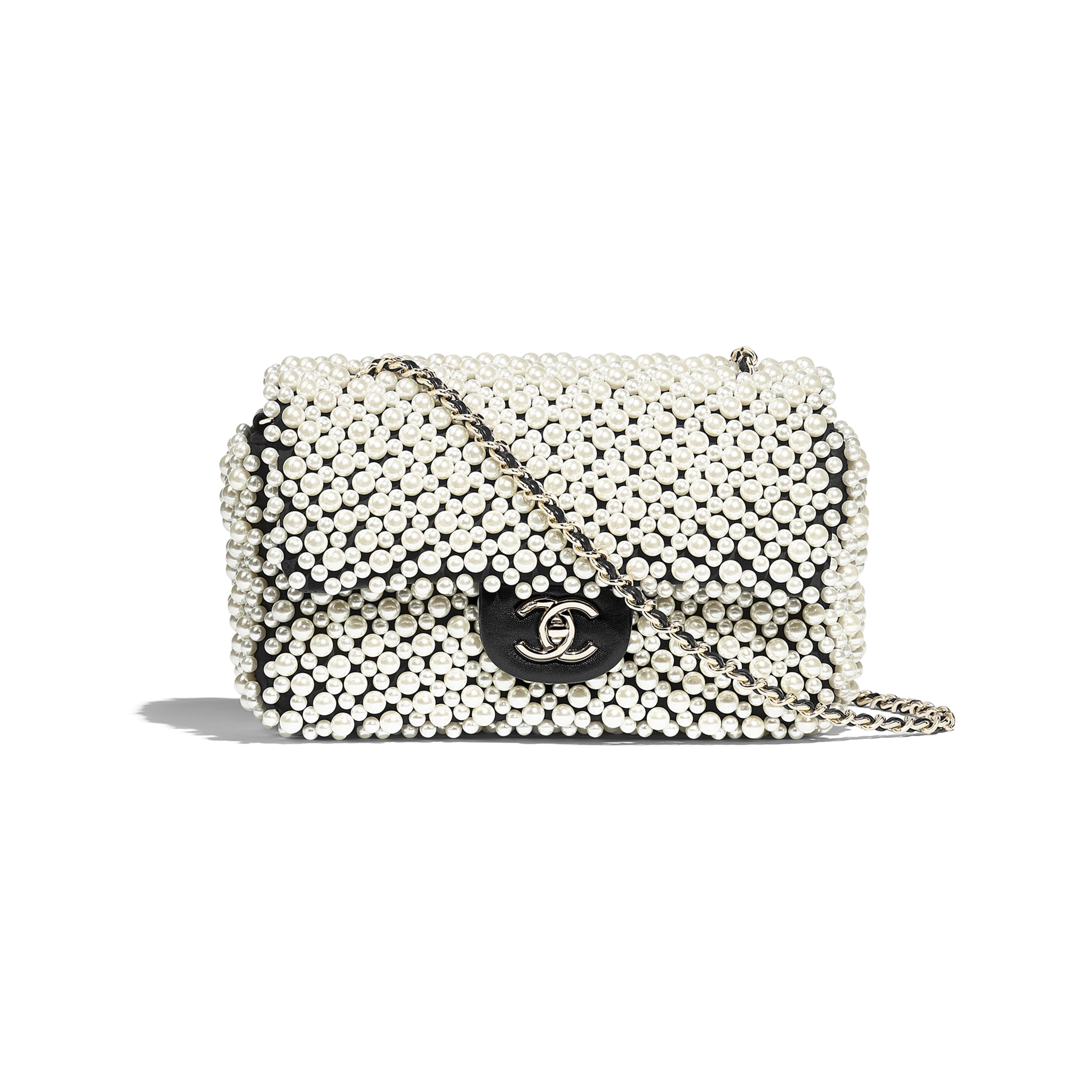 Flap Bag Imitation Pearls