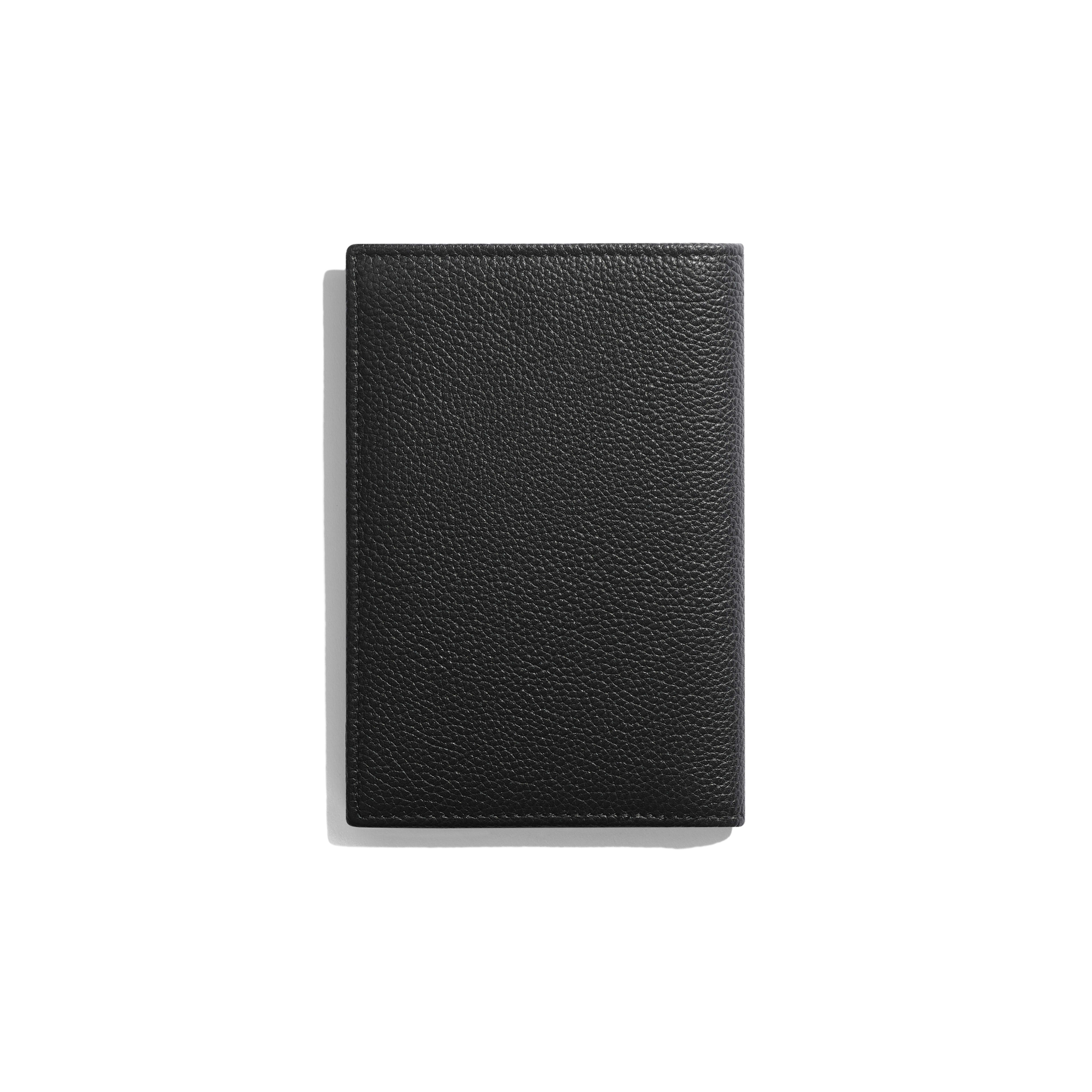 b98e23e34356 Flap Wallet - Black - Grained Calfskin & Ruthenium-Finish Metal -  Alternative view ...