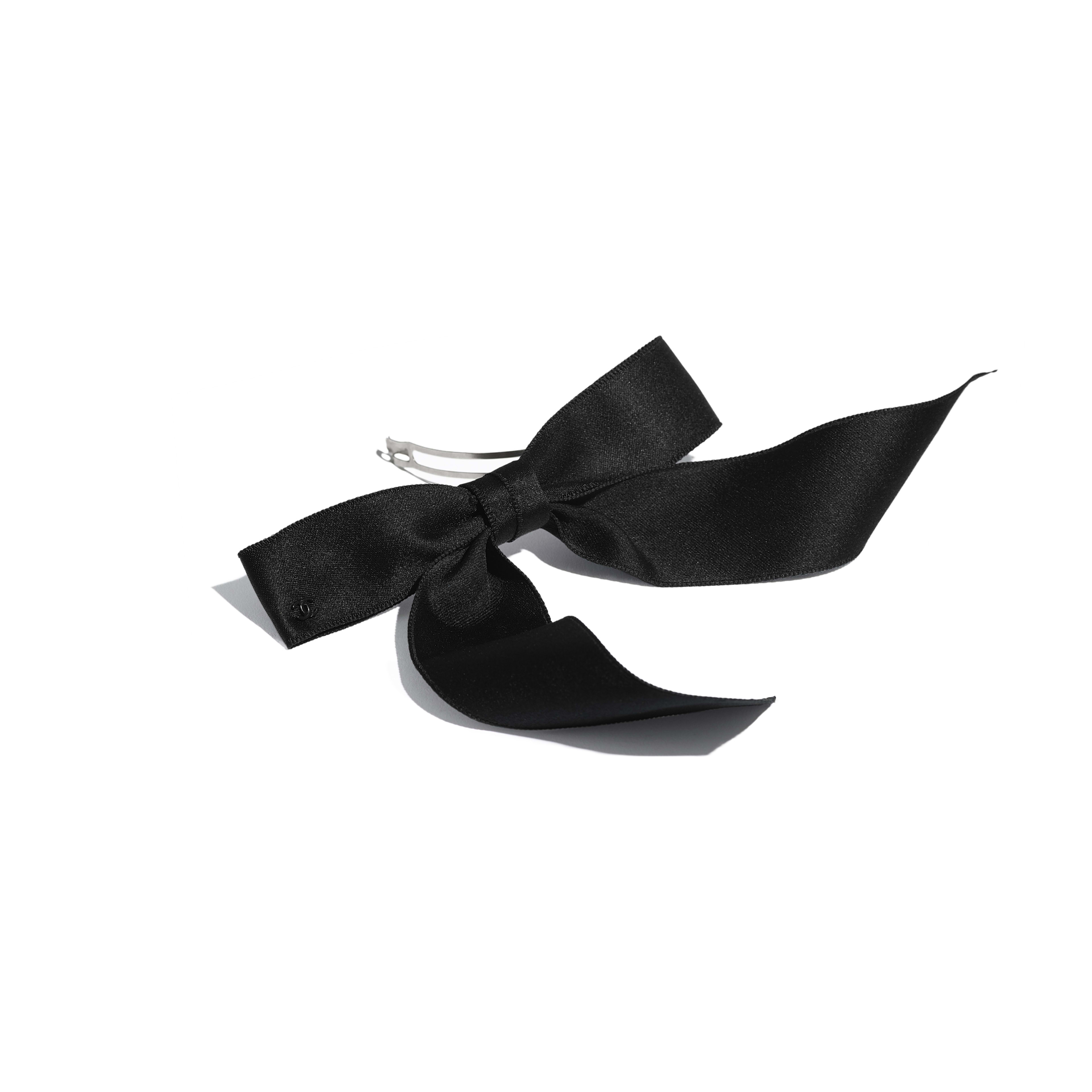 Hair Accessory - Black - Silk - Alternative view - see full sized version