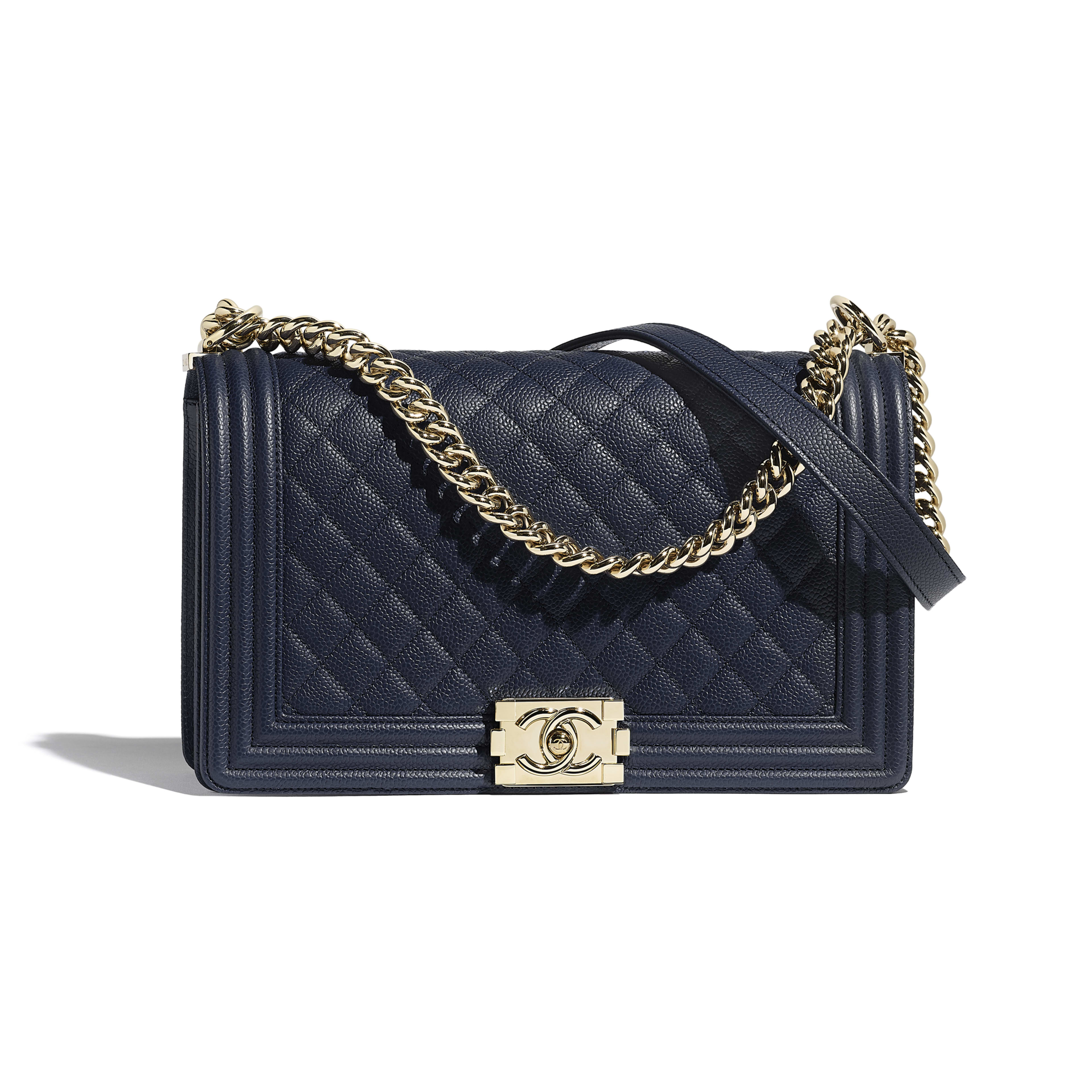 Large BOY CHANEL Handbag by Chanel, available on chanel.com for $5500 Jordyn Woods Bags Exact Product