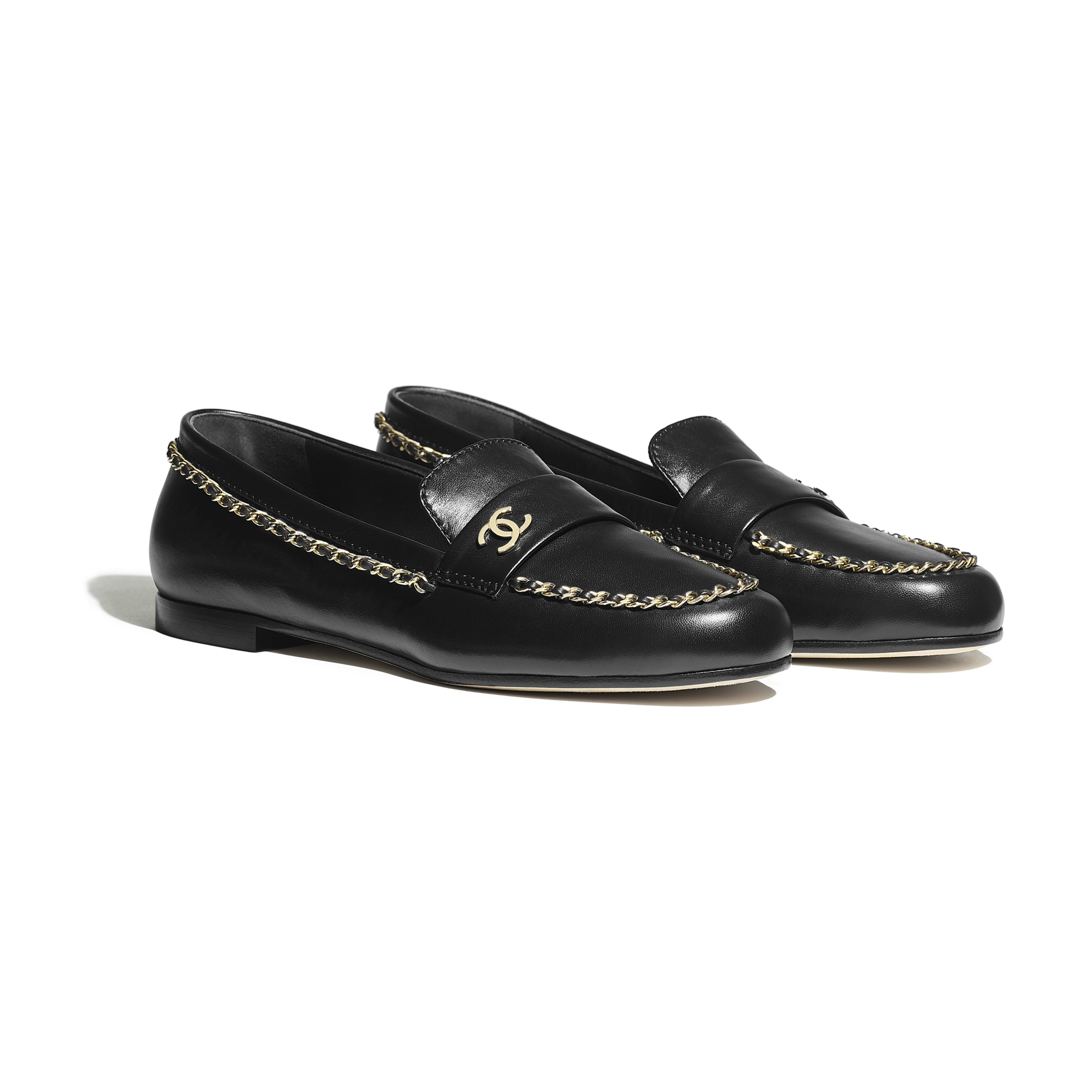 Loafers - Black - Lambskin - Alternative view - see full sized version