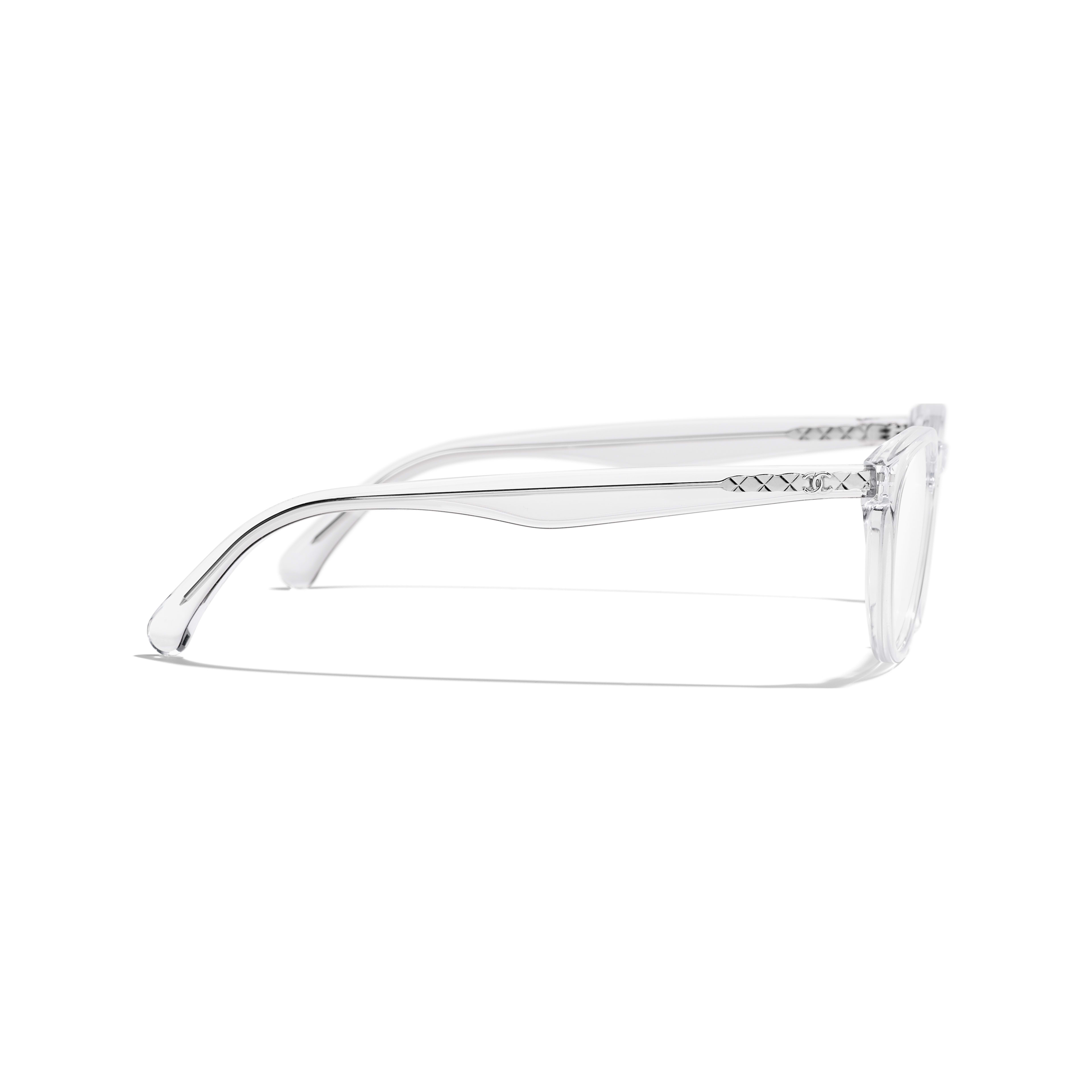 Pantos Eyeglasses - Transparent - Acetate - Other view - see full sized version