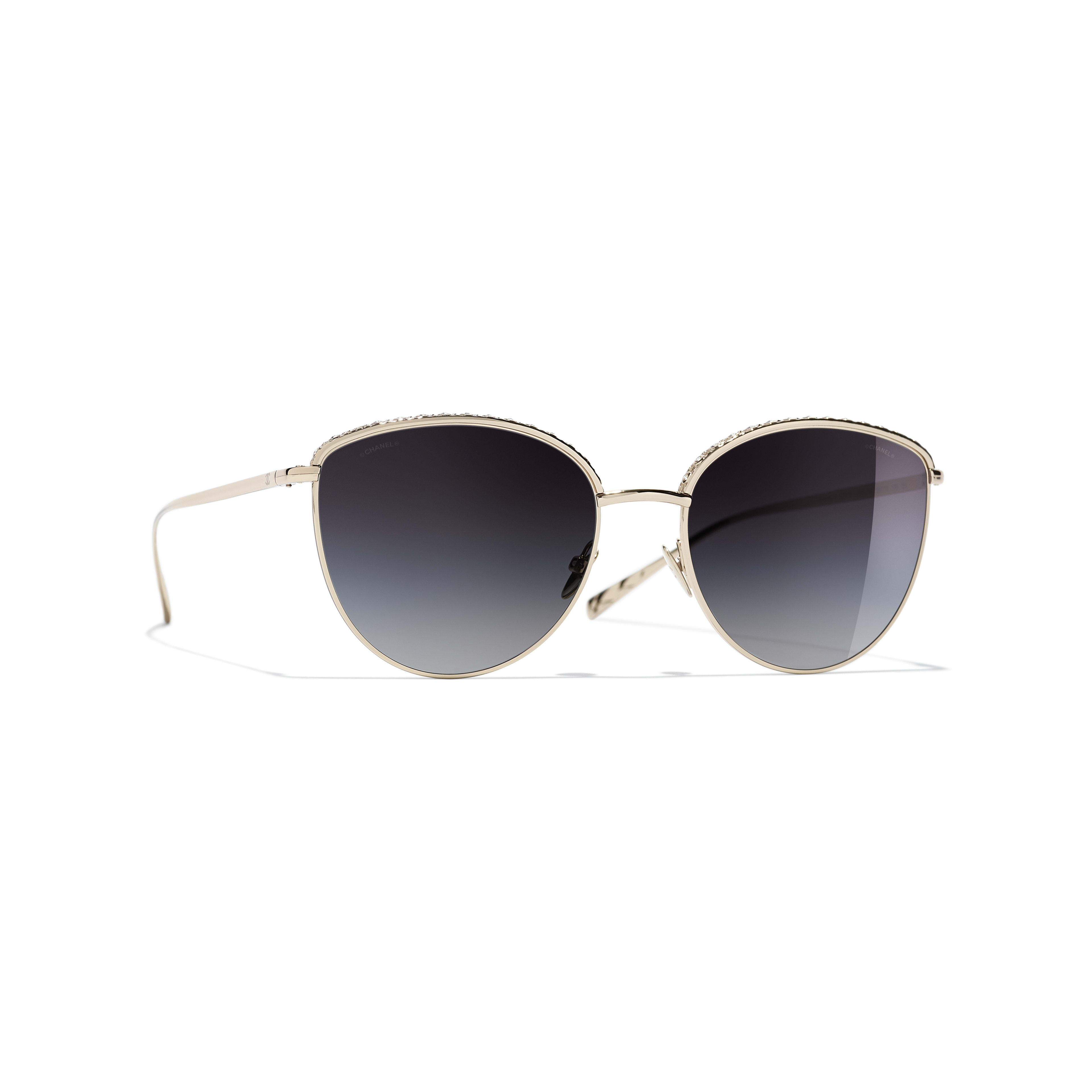 Pantos Sunglasses - Gold - Metal & Strass - Default view - see full sized version
