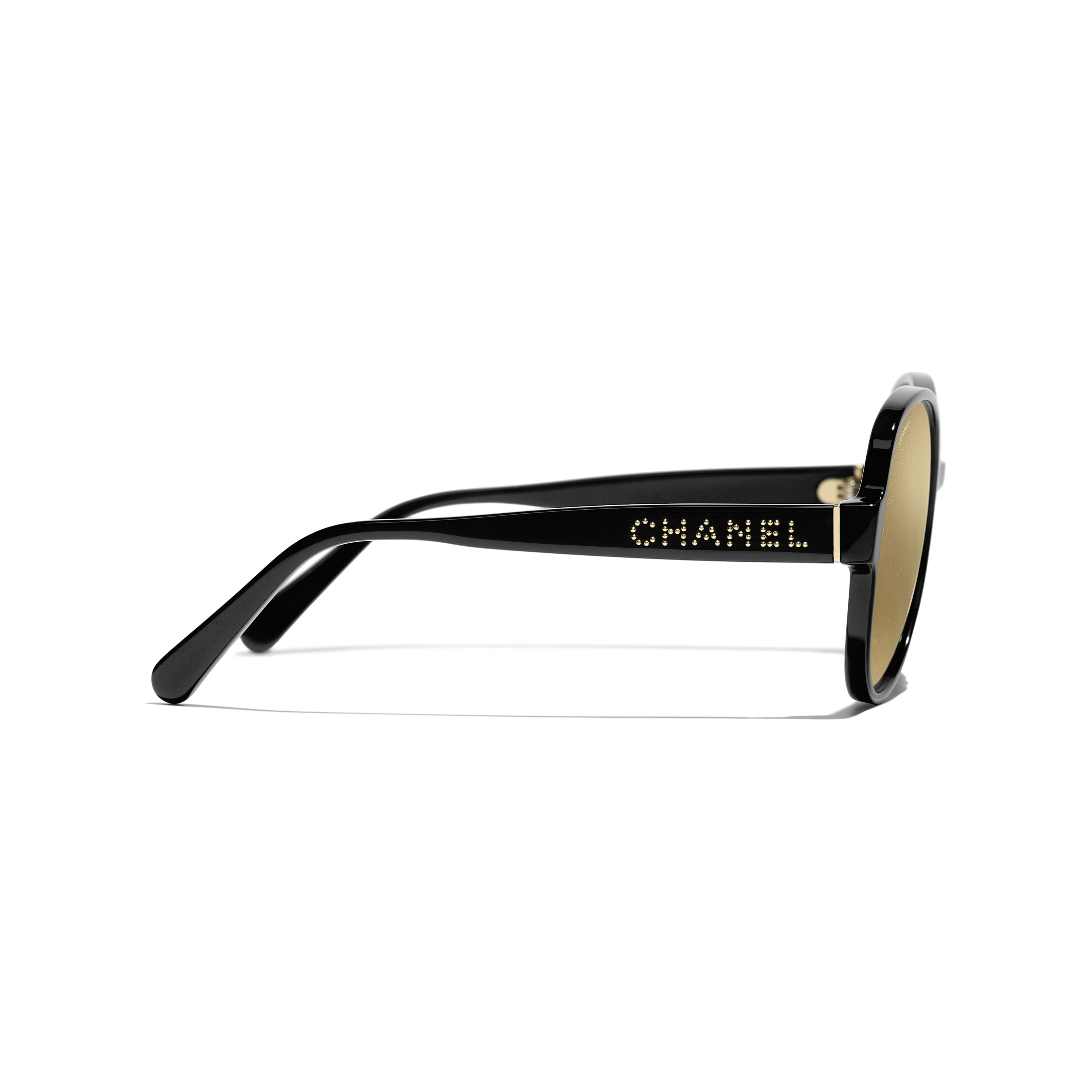 Pilot Sunglasses - Black - Acetate - Other view - see full sized version
