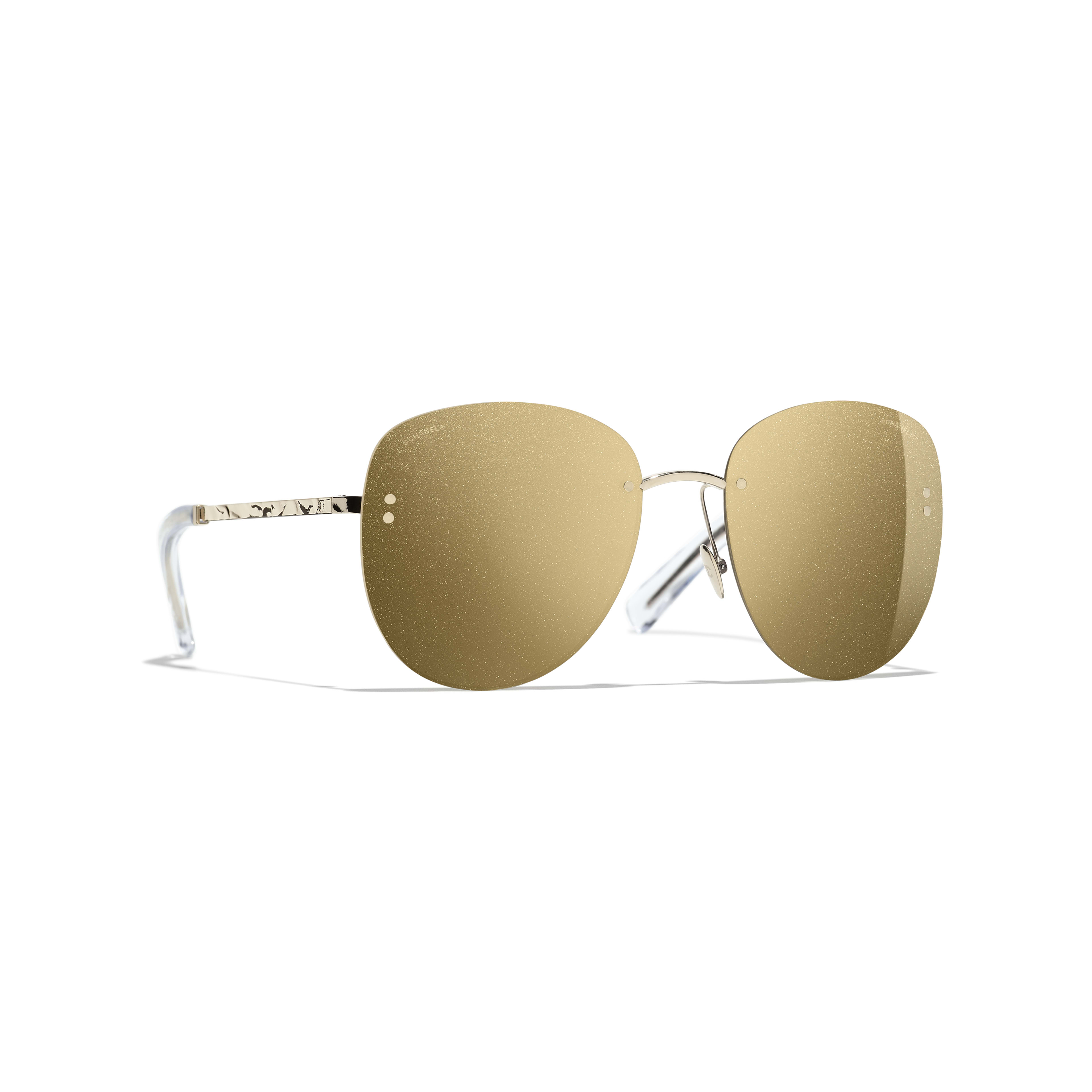 Pilot Sunglasses - Gold - Metal - Default view - see full sized version
