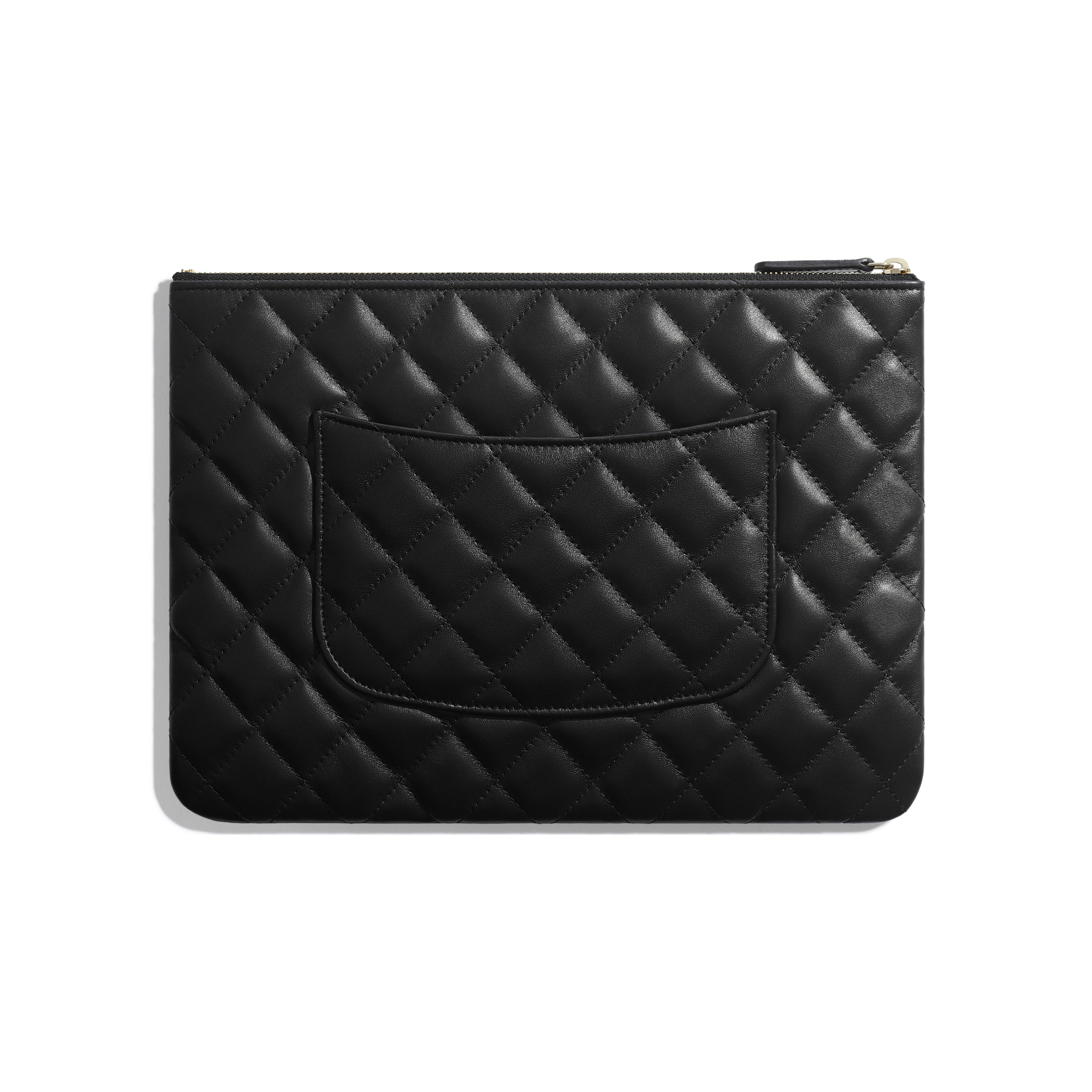Pouch - Black - Lambskin - Alternative view - see full sized version