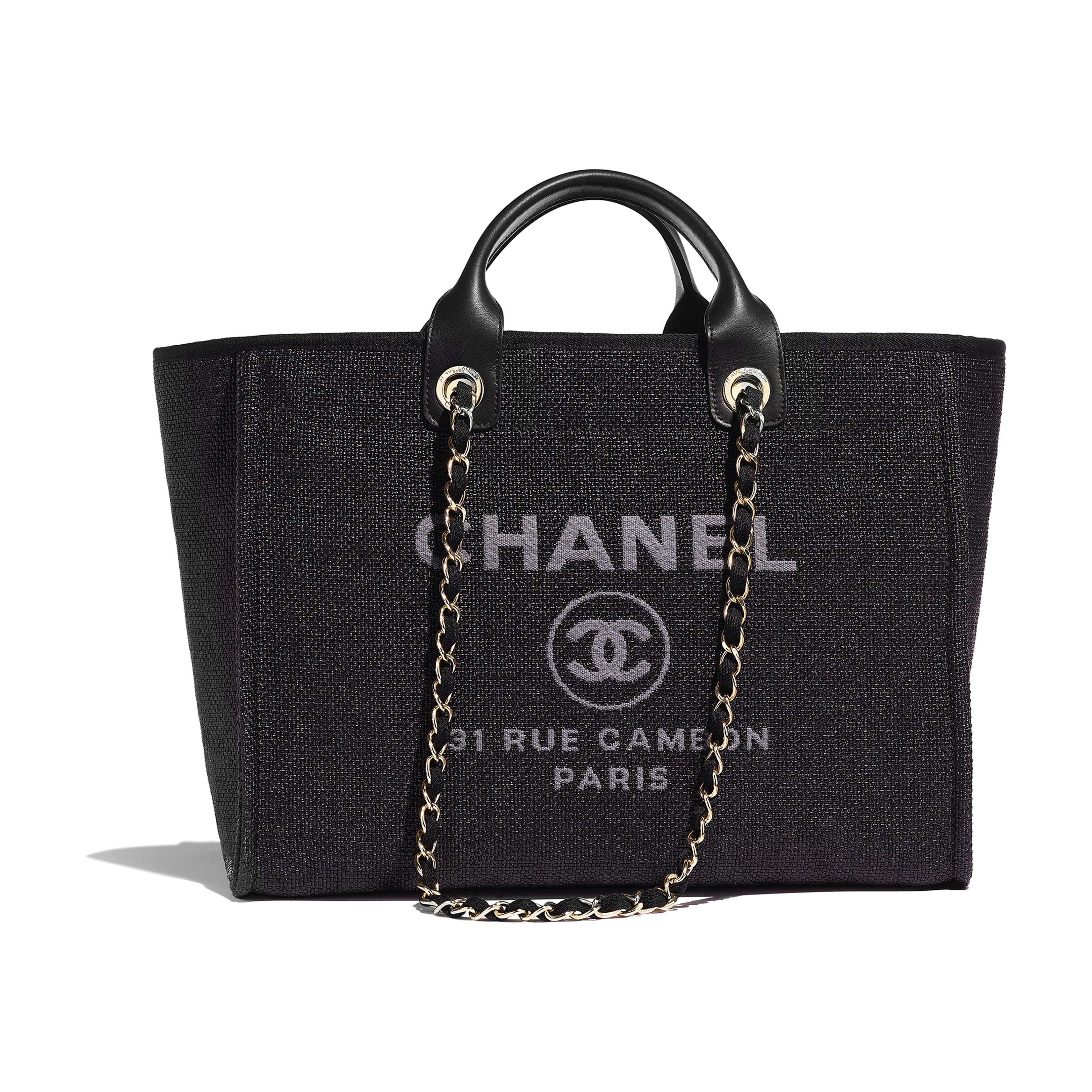24b4c3c991 Shopping Bag - Black - Cotton