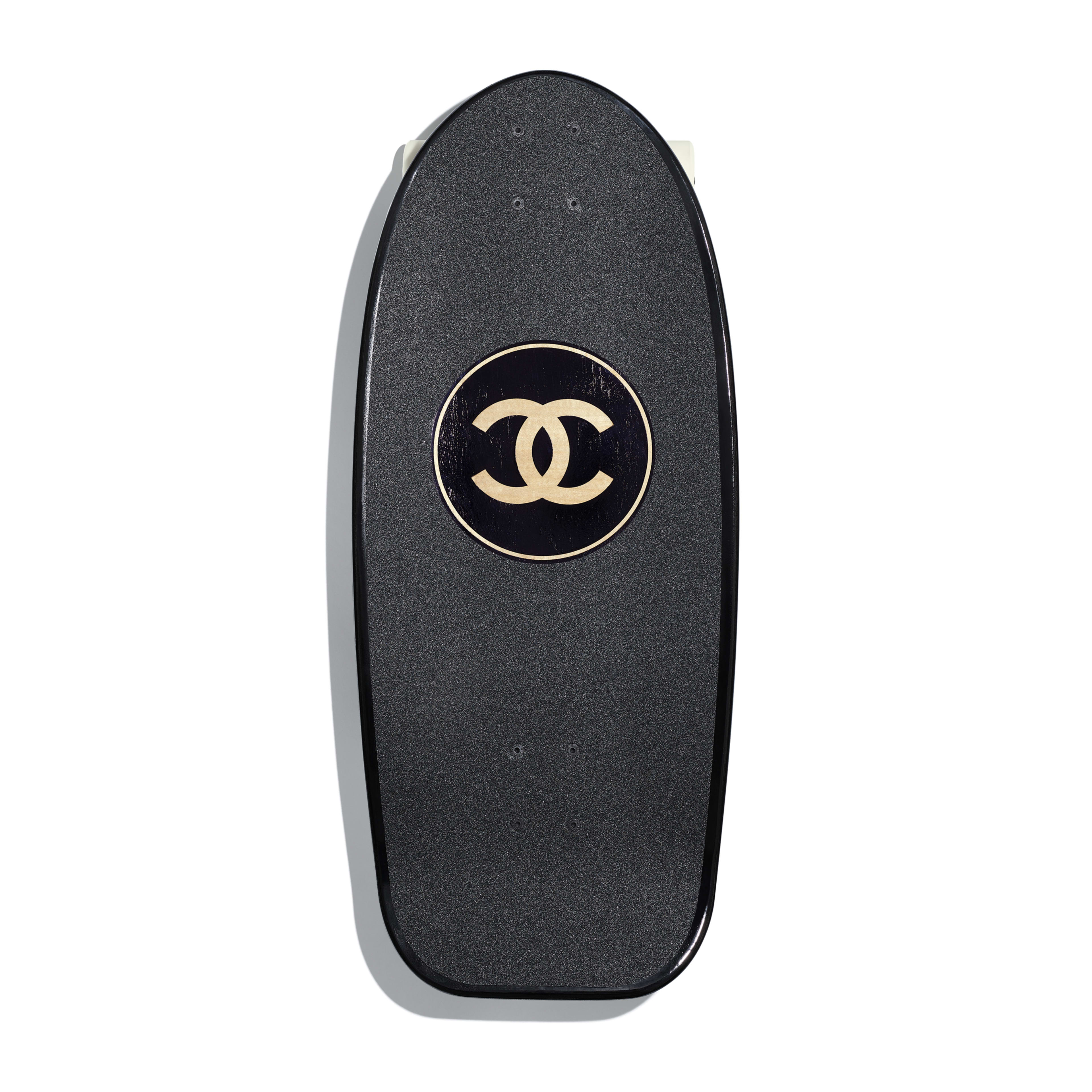 Skateboard - Black - Lacquered Wood - Default view - see full sized version