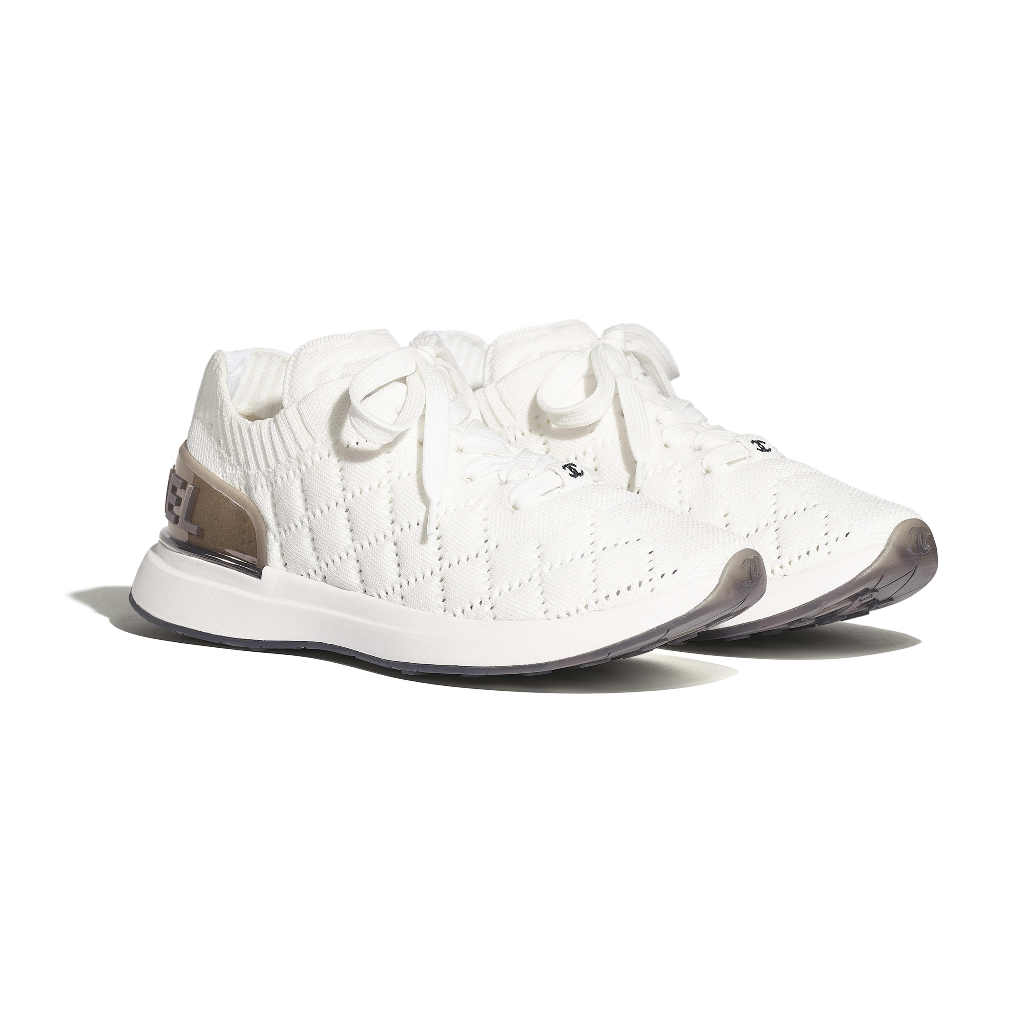Кроссовки - Белый - Меланж - Альтернативный вид - посмотреть полноразмерное изображение