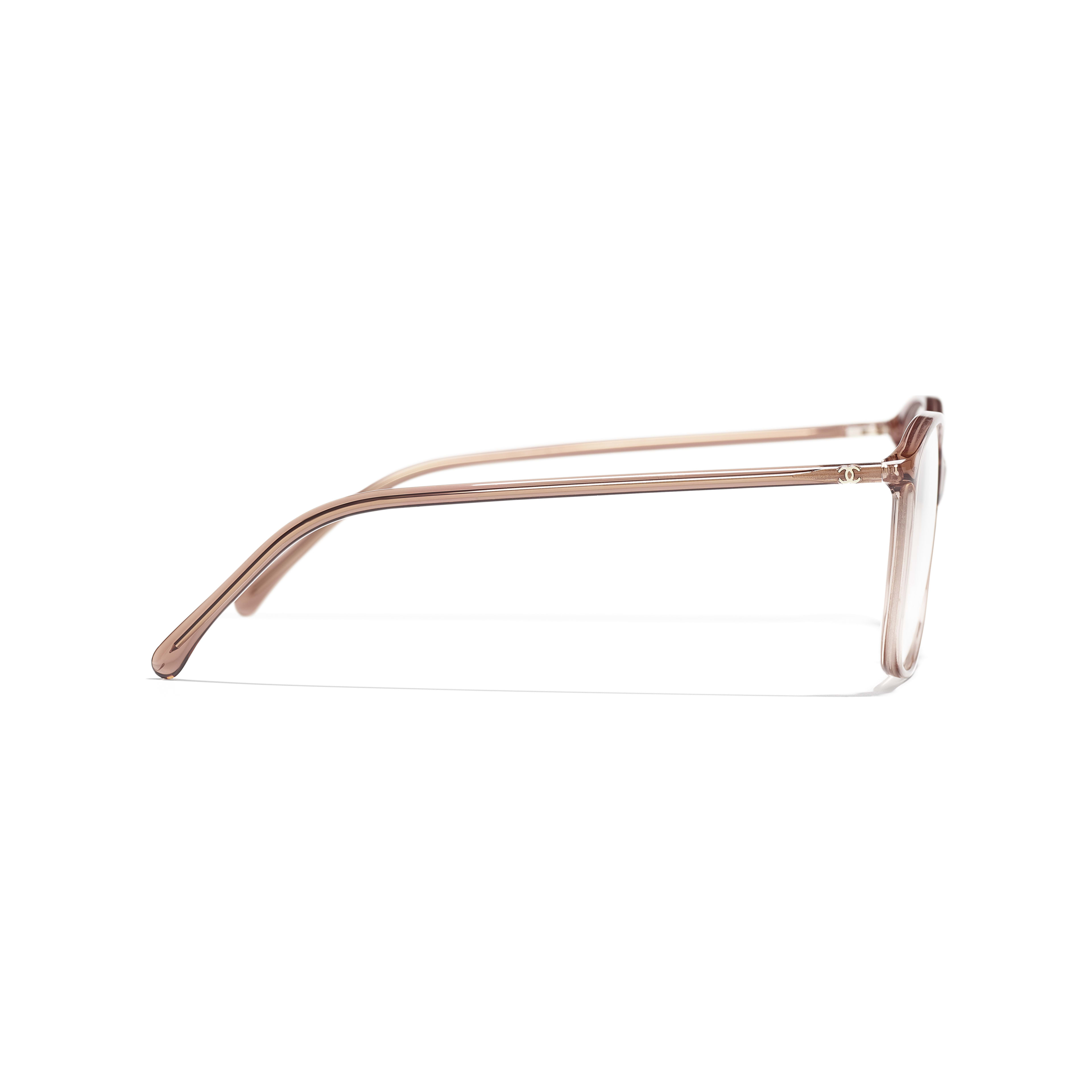 Square Eyeglasses - Brown - Acetate - Other view - see full sized version