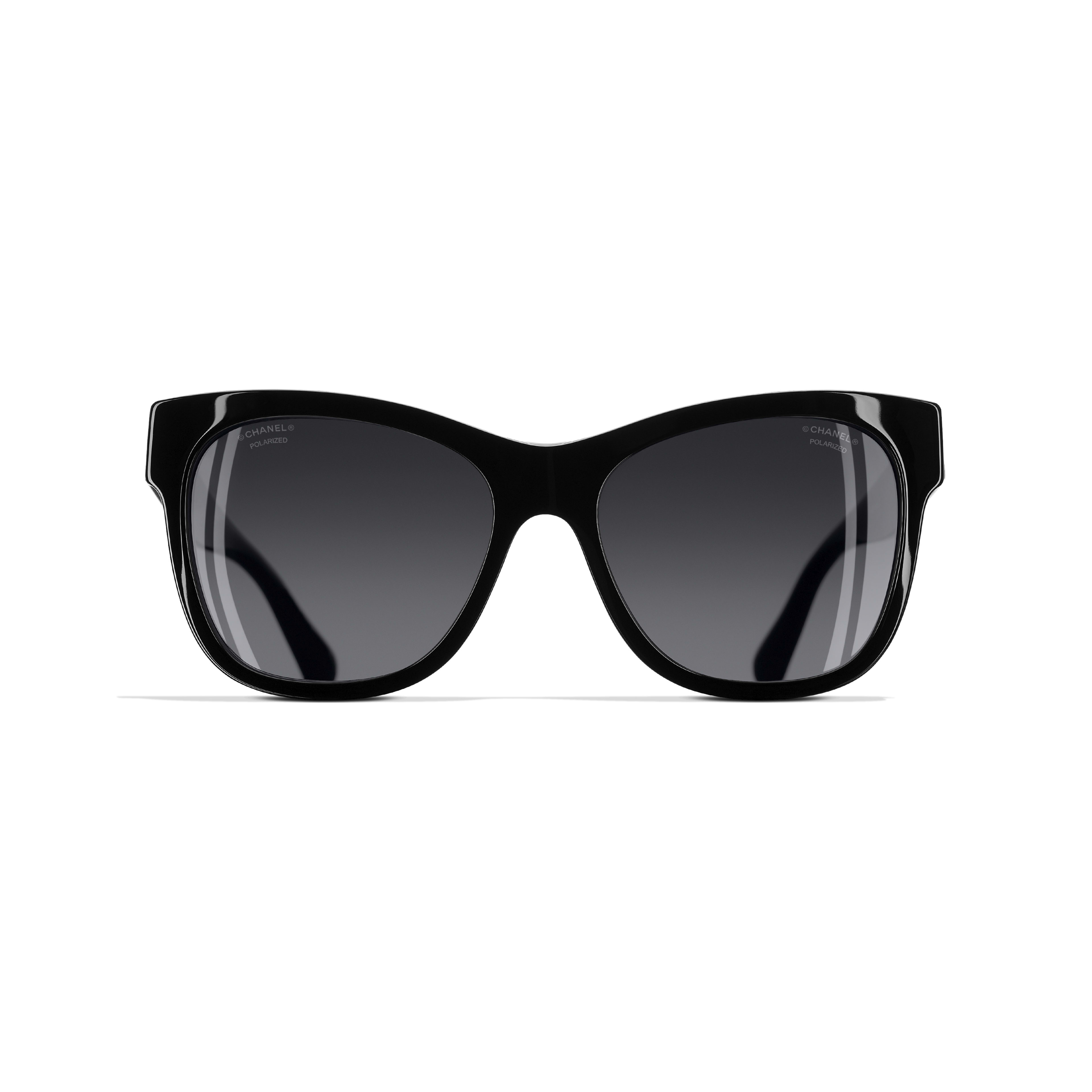 Square Sunglasses - Black - Acetate - Alternative view - see full sized version