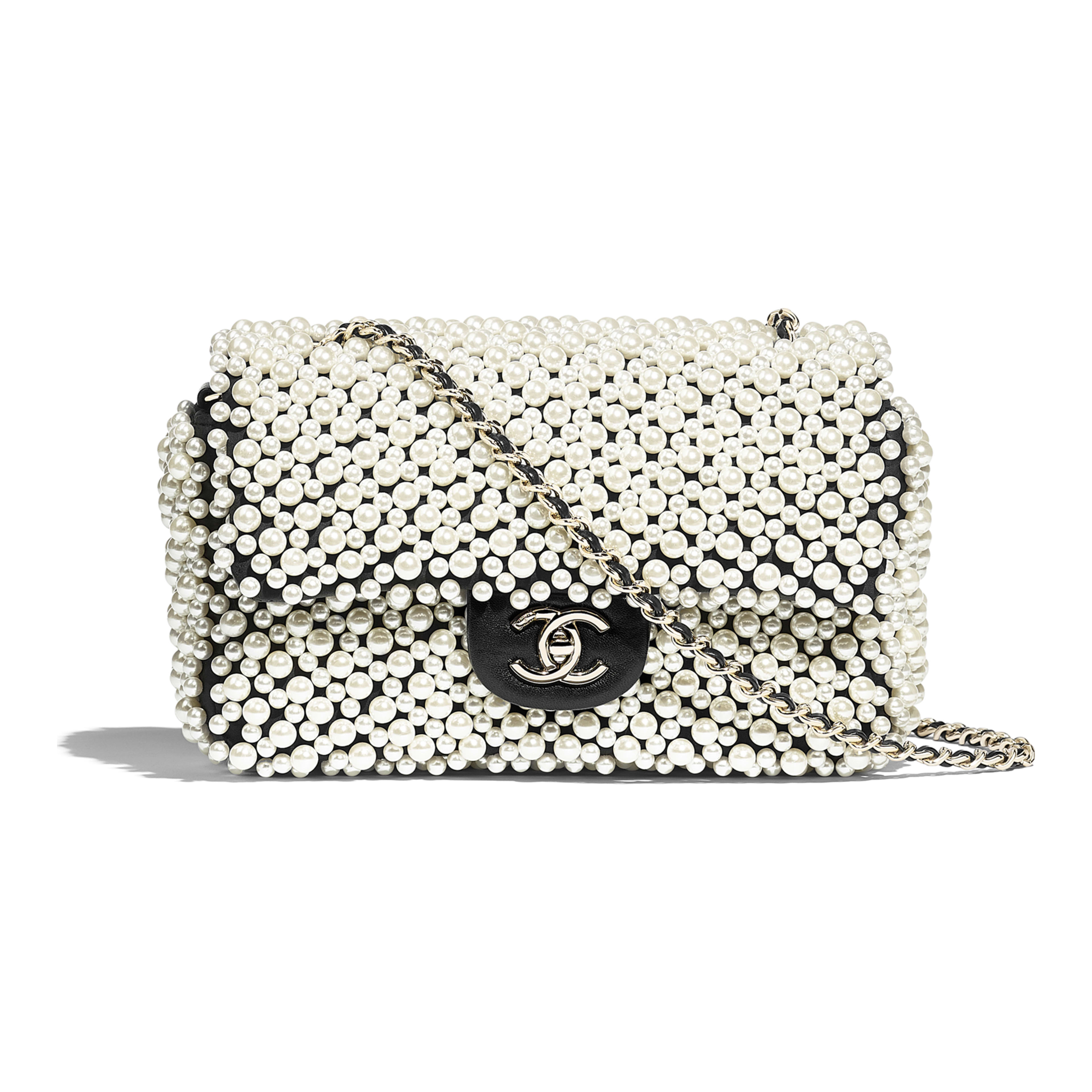 Chanel Pearl Flap Bag