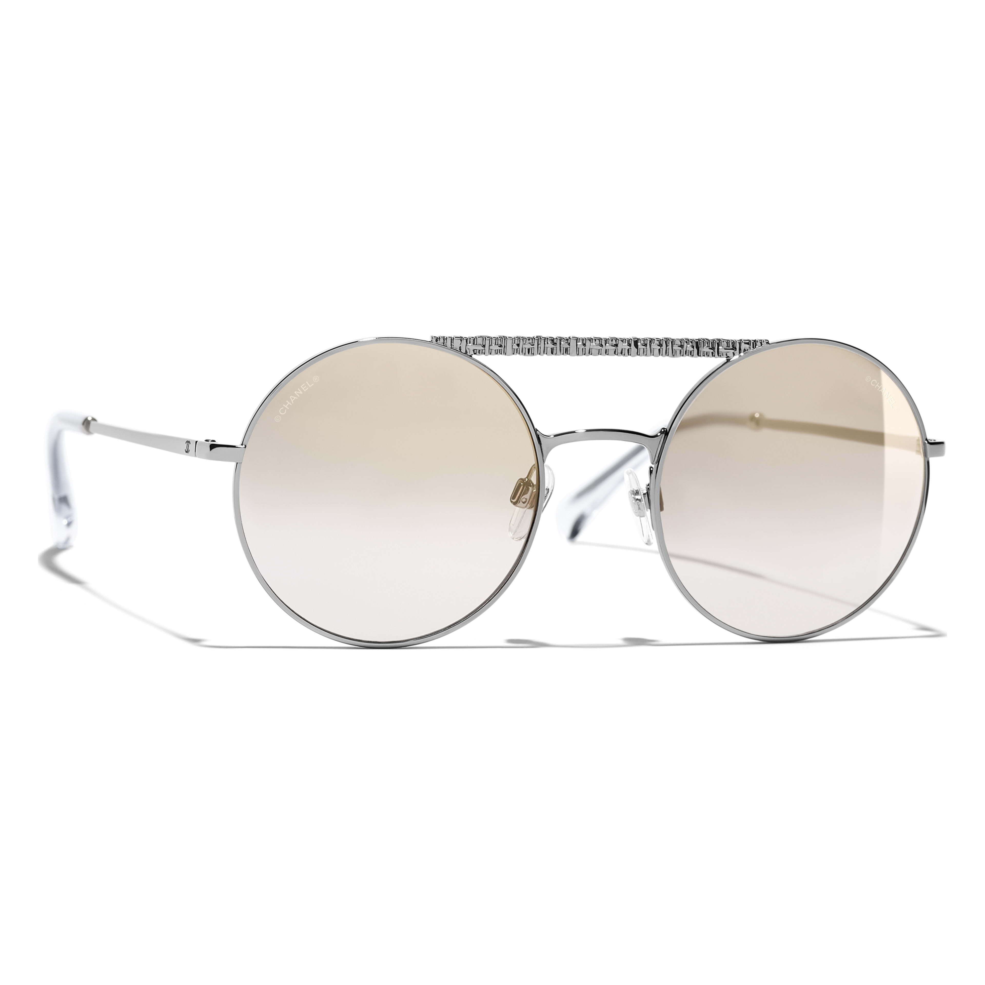 1840c4be15 See other colors Dark Silver frame. Beige mirror lenses.