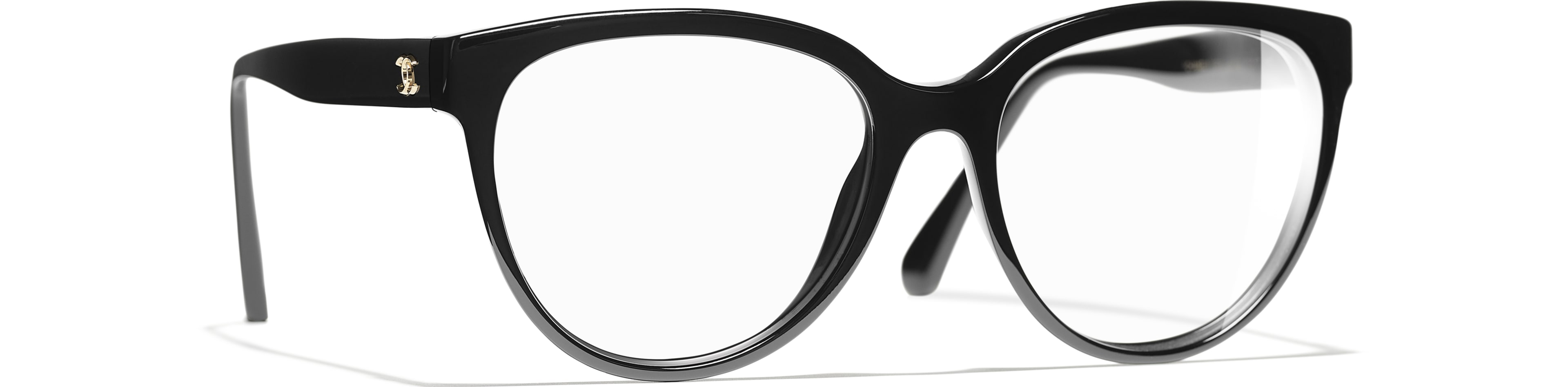 Acetate black frame.