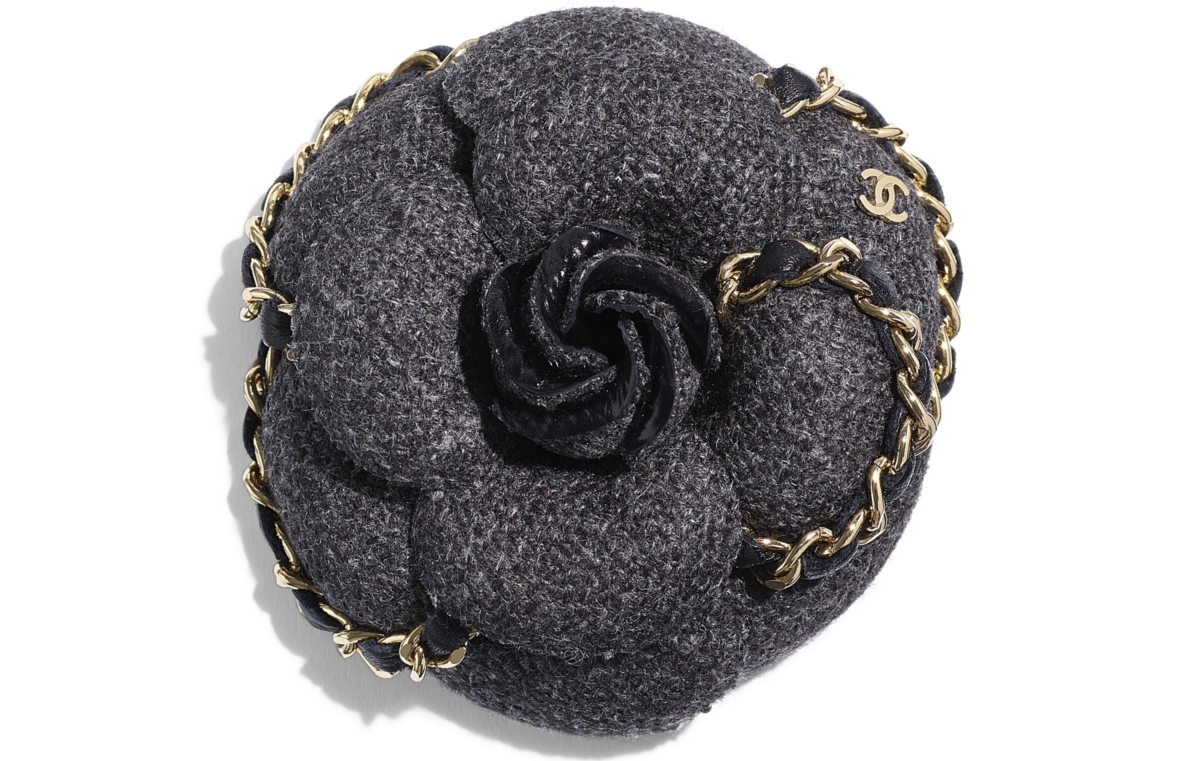 Wool Tweed Grey