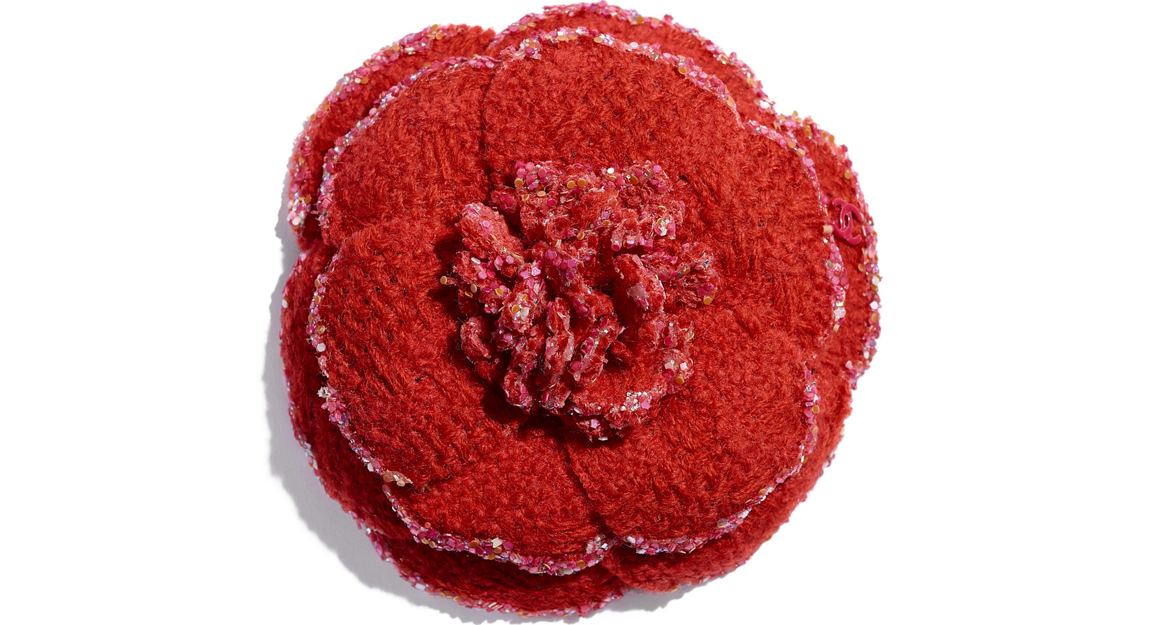 Wool Tweed Red