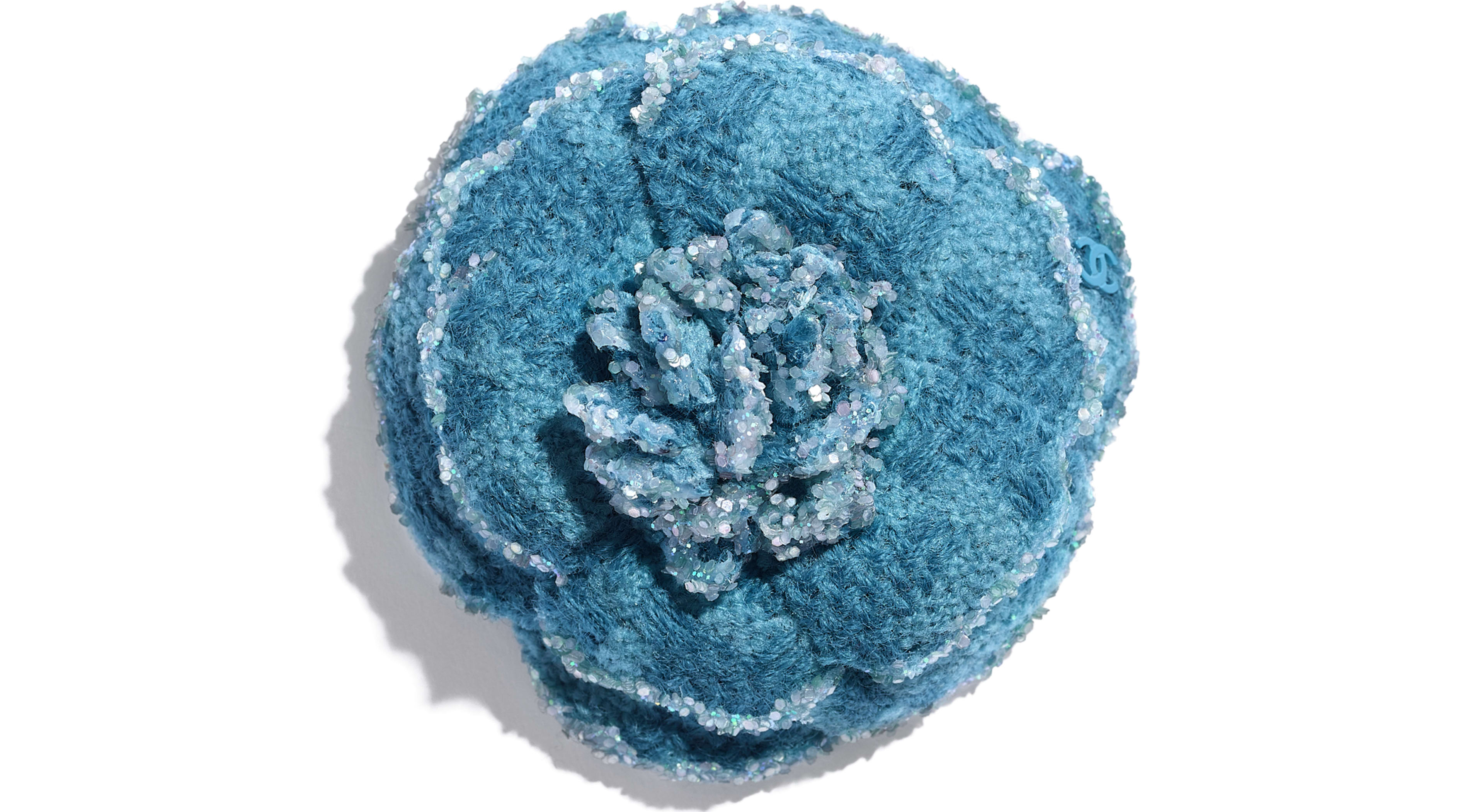Wool Tweed Turquoise