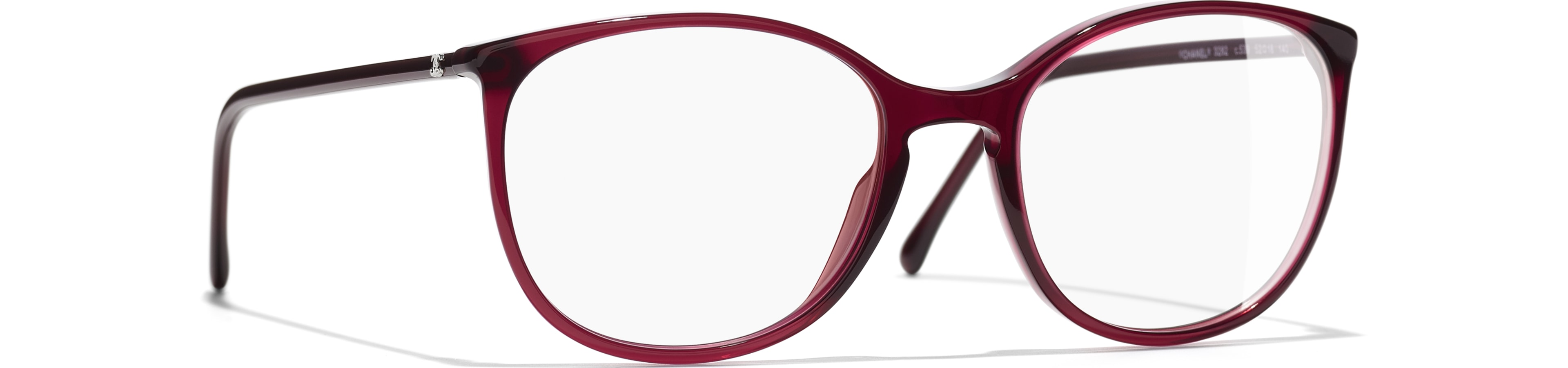 Acetate red frame.