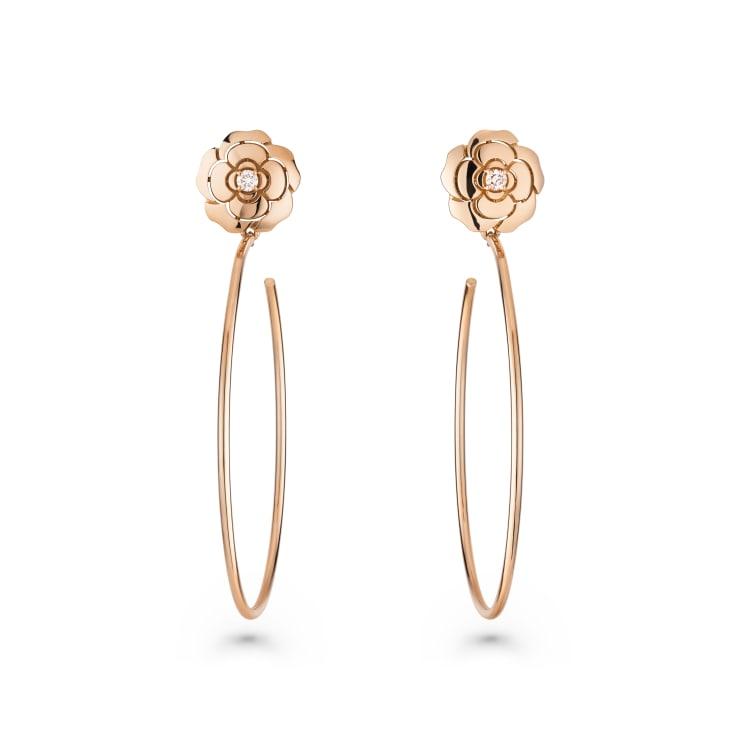 Camelia Pink Earrings