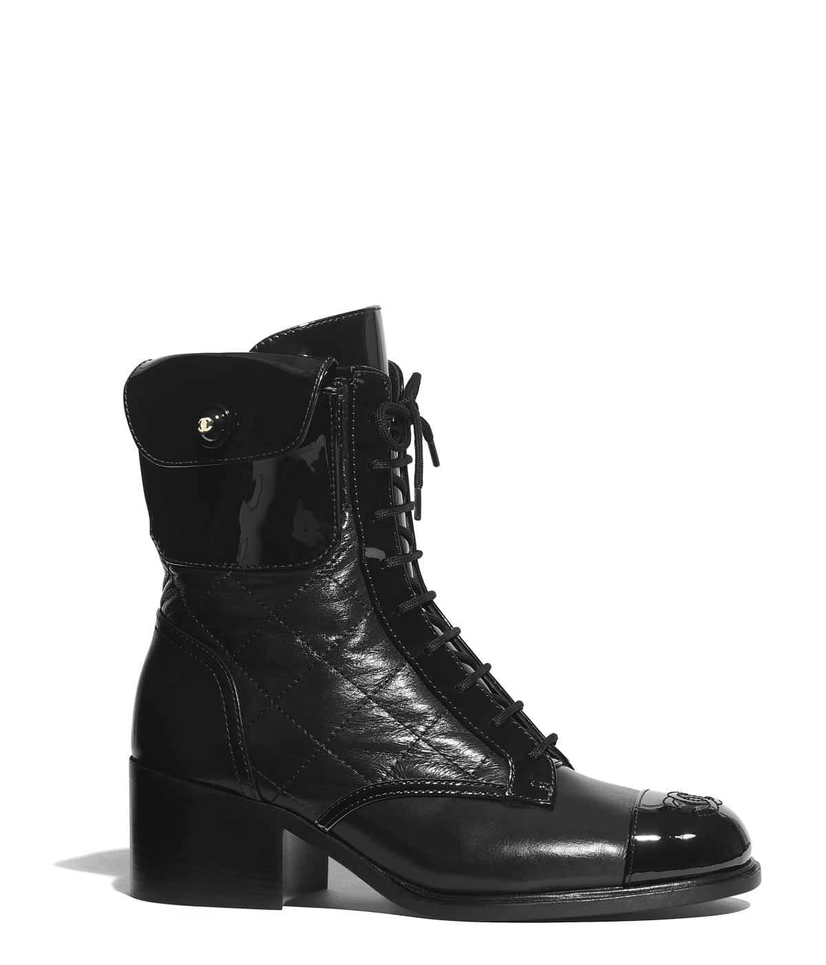 first rate c03df 5d70b Short Boots - Shoes - CHANEL