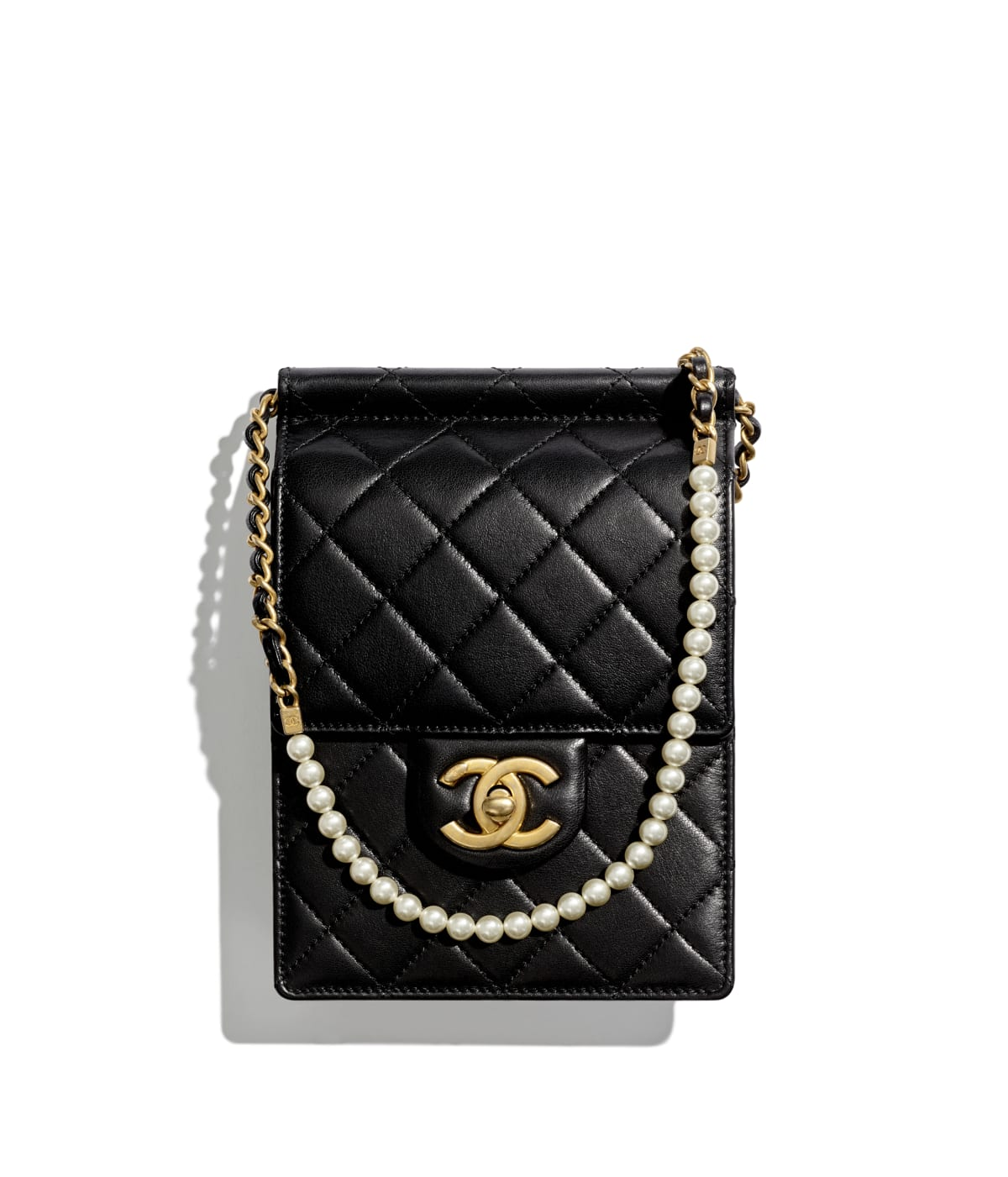 Clutches with Chain - Small Leather Goods - CHANEL 8e548422f8339
