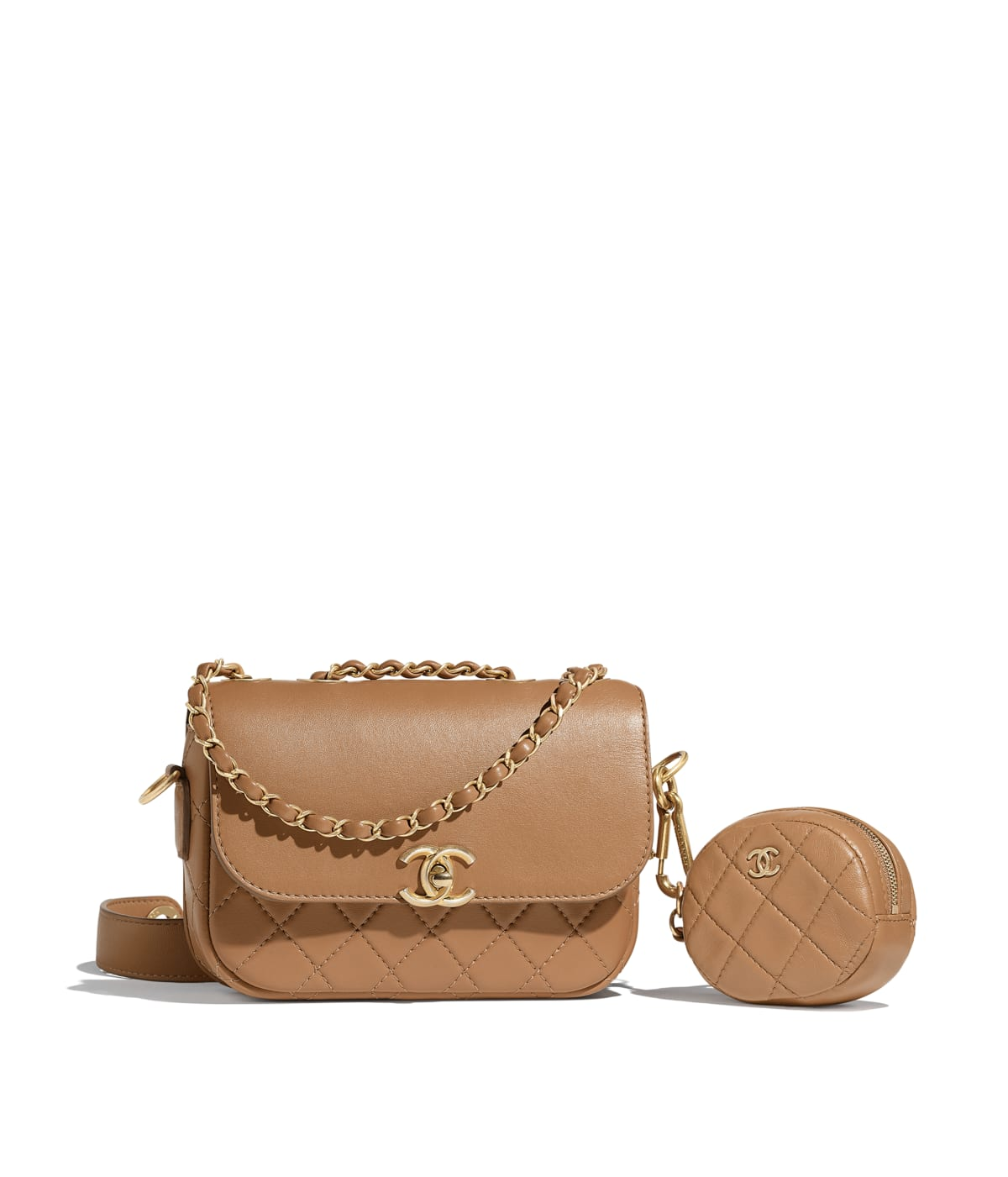 Chanel Flap Bag & Coin Purse