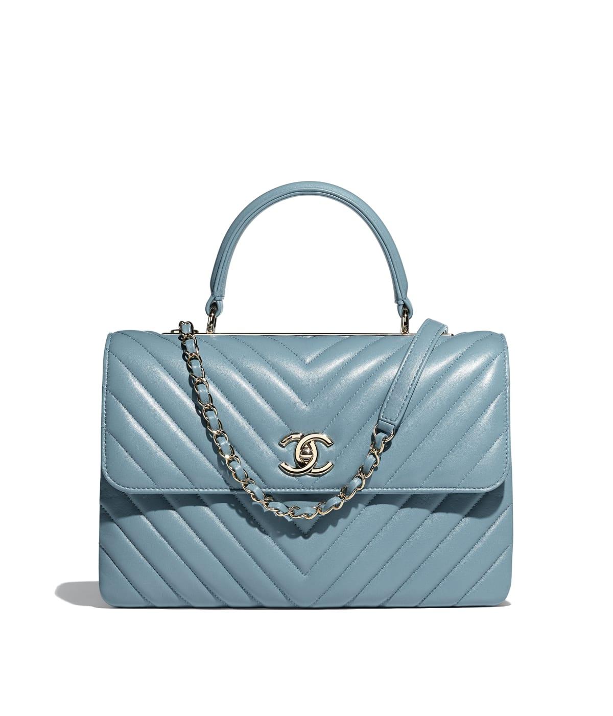 Shoptagr Pattentasche Mit Griff By Chanel
