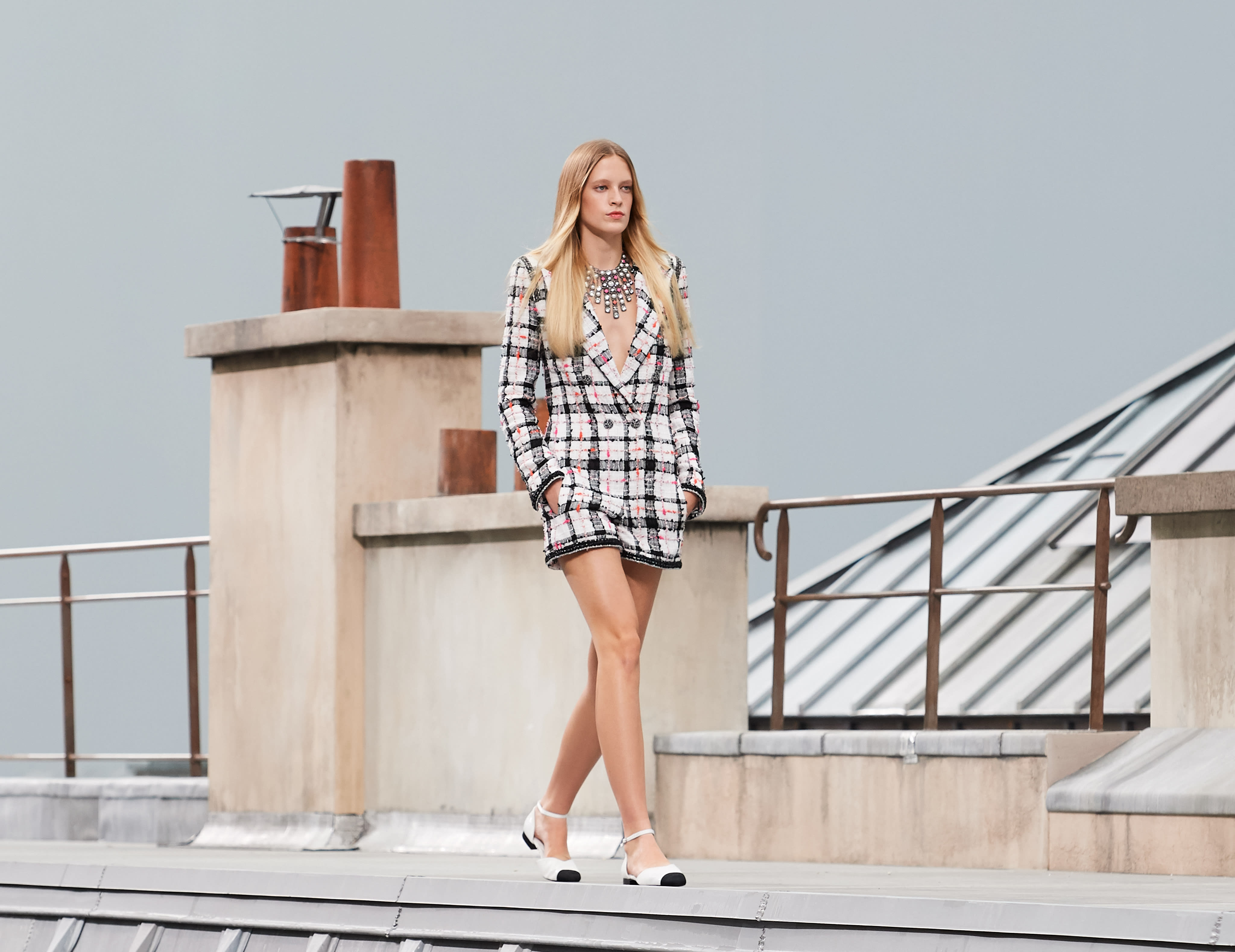 Chanel Summer 2020.Spring Summer 2020 Ready To Wear Look 7 Chanel
