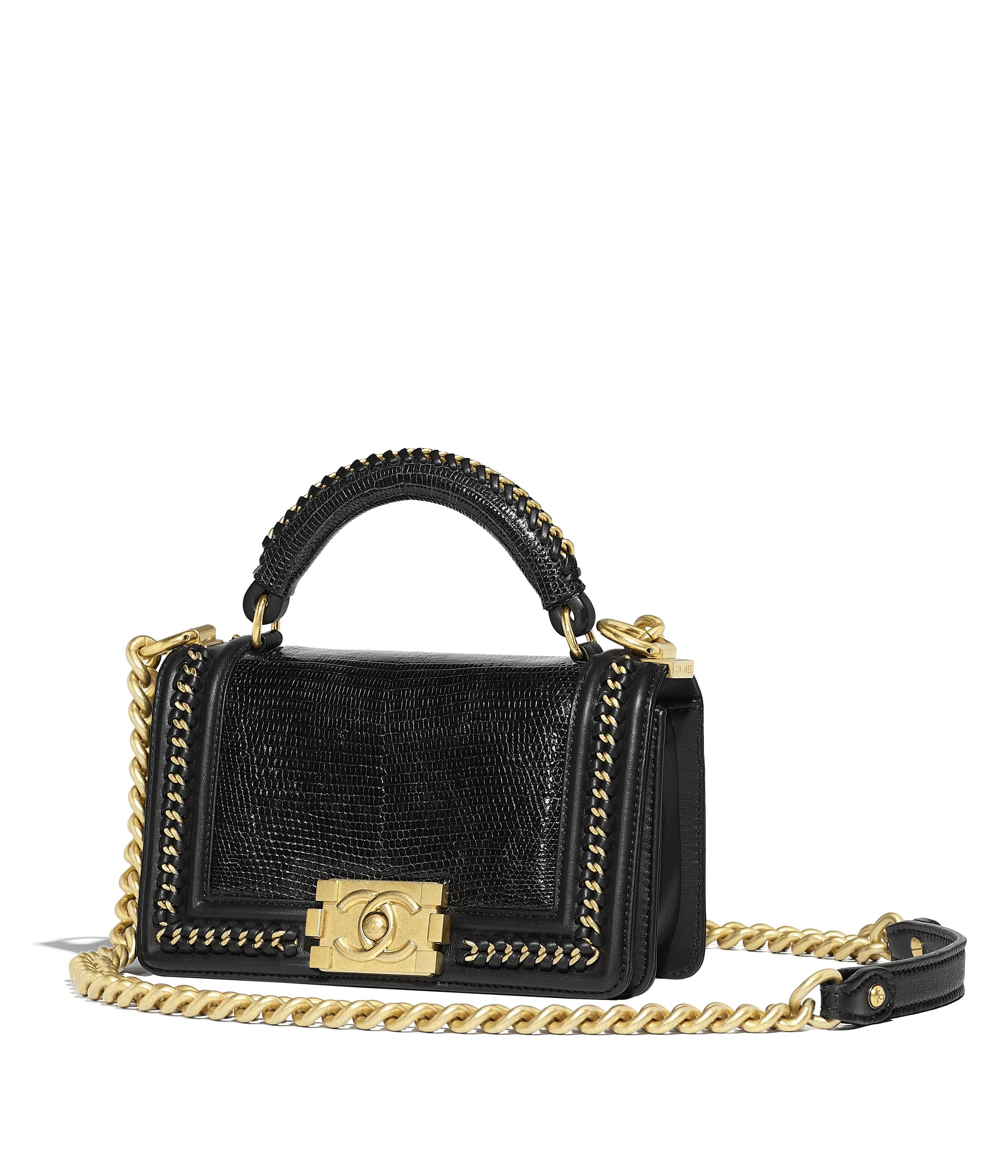 Boy Chanel Handbag With Handle