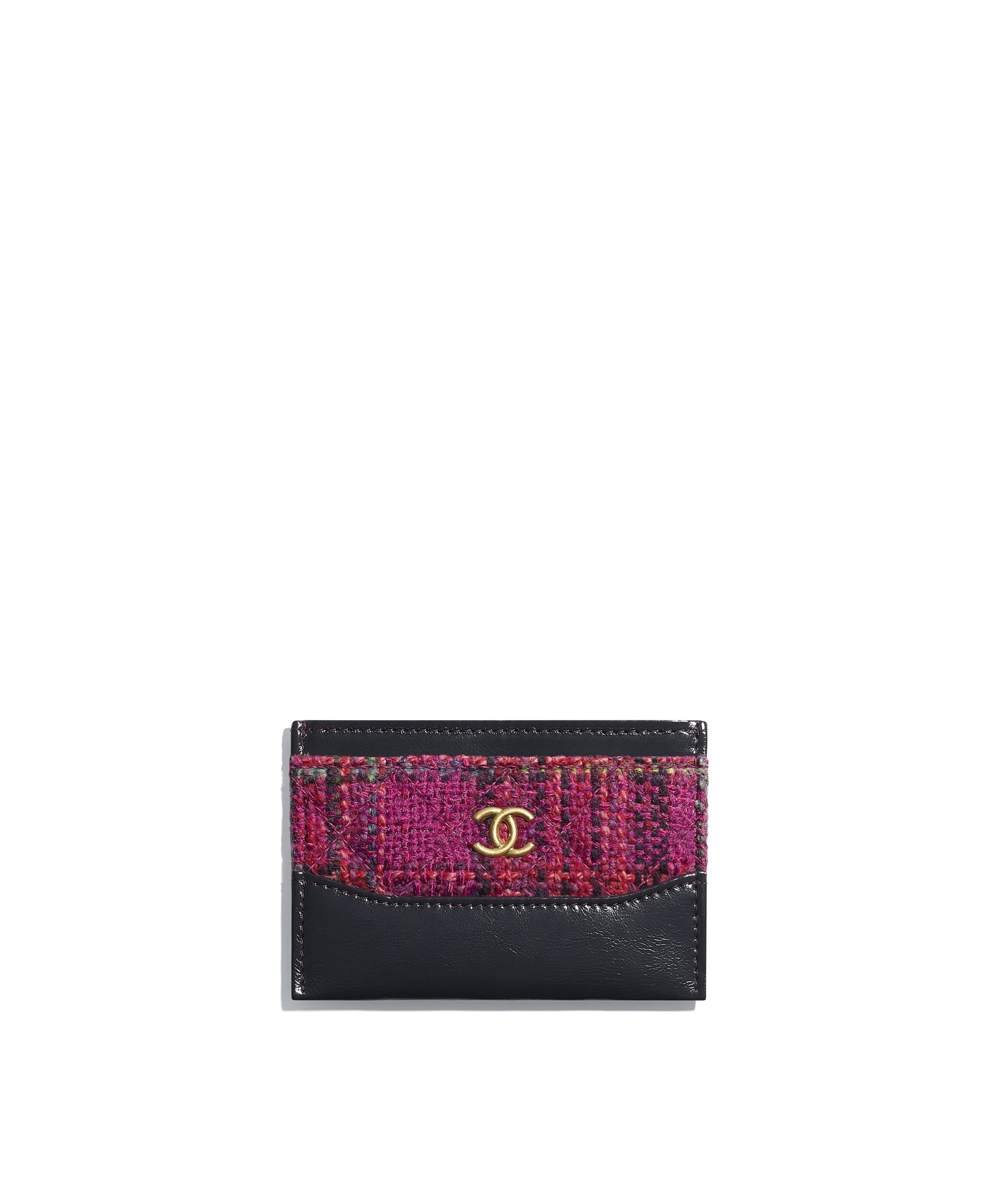 Card holders small leather goods chanel card holder reheart Choice Image