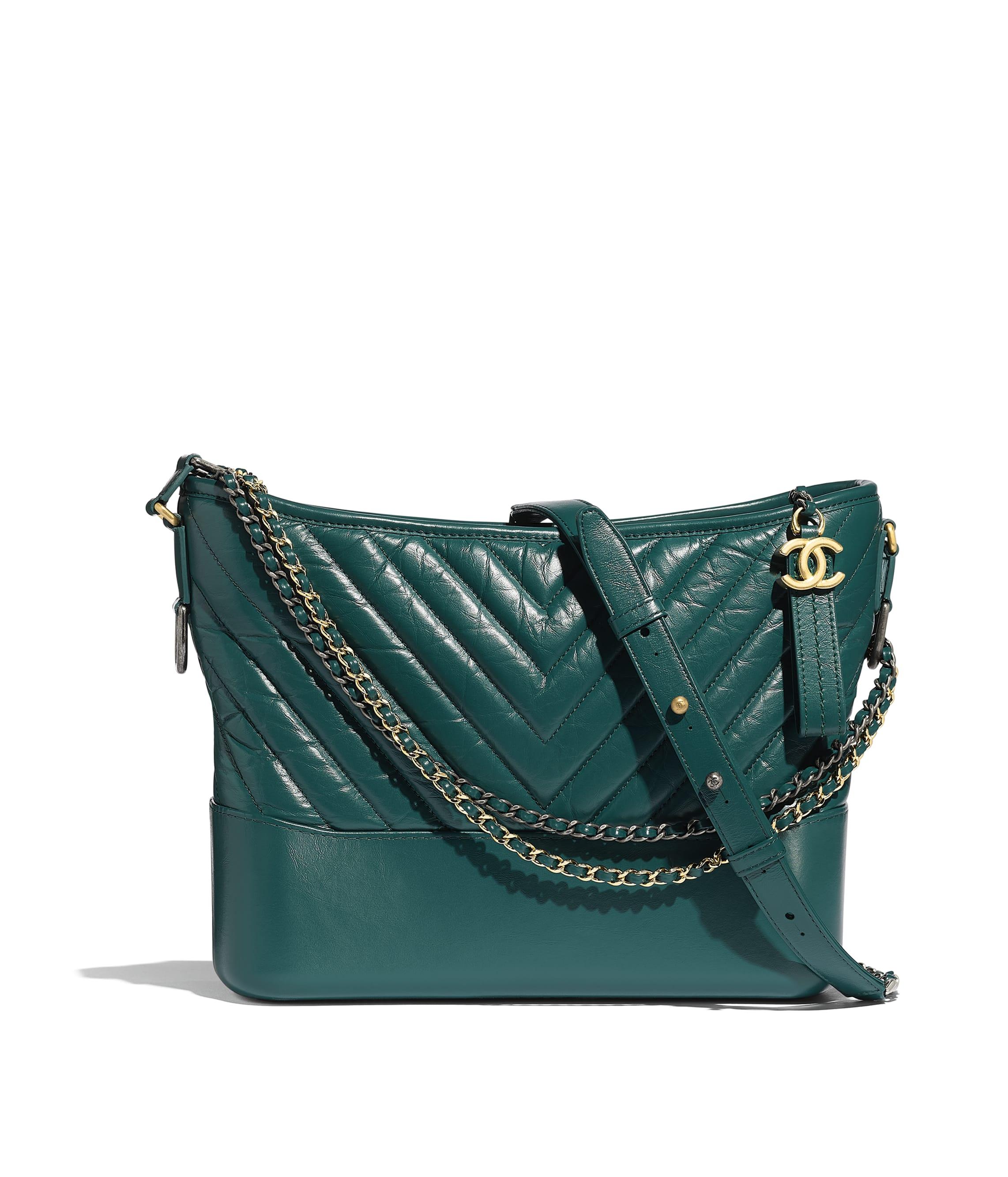7912de4b9bc3 CHANEL'S GABRIELLE Hobo Bag, aged calfskin, smooth calfskin, gold ...