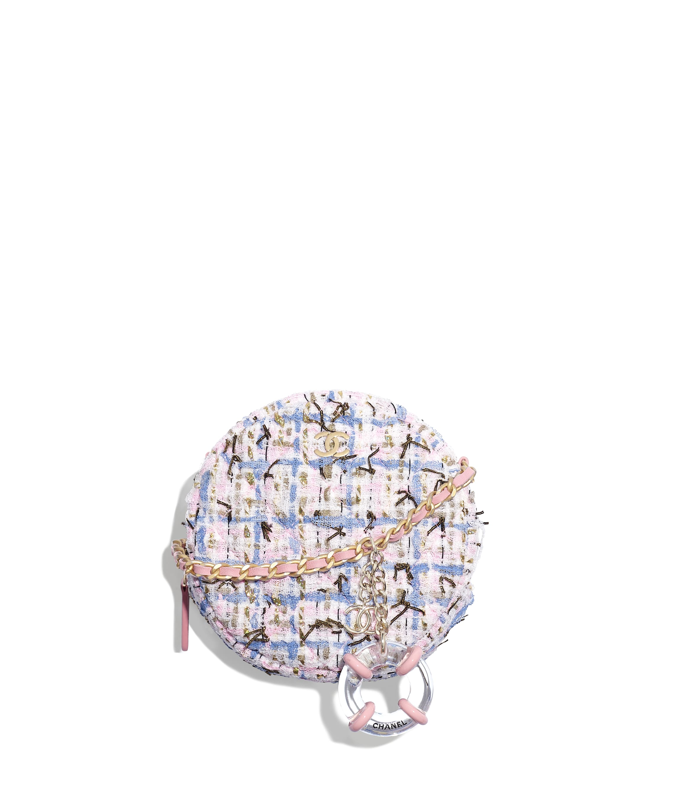 Классический клатч с цепочкой