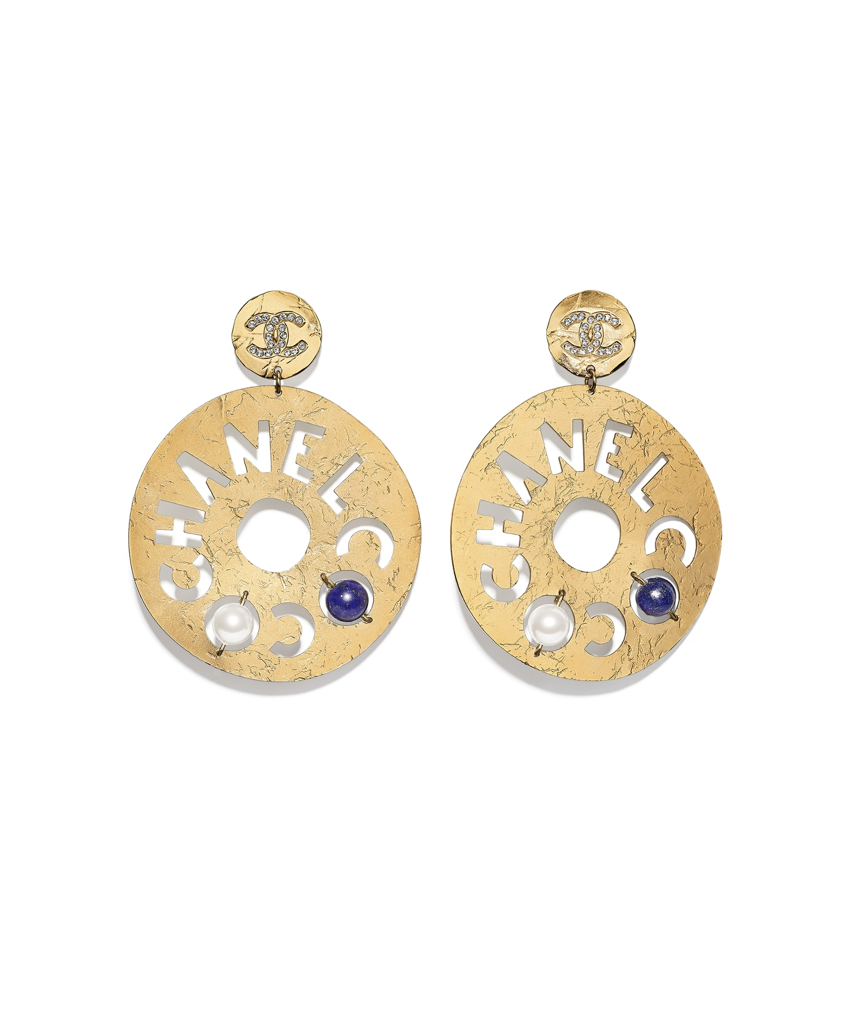 Jewelry & Accessories Earrings High Quatily Simple Large Gold Silver Earrings Big Long Drop Earrings Irregular Circles Dangle Earring For Women Fashion Jewelry