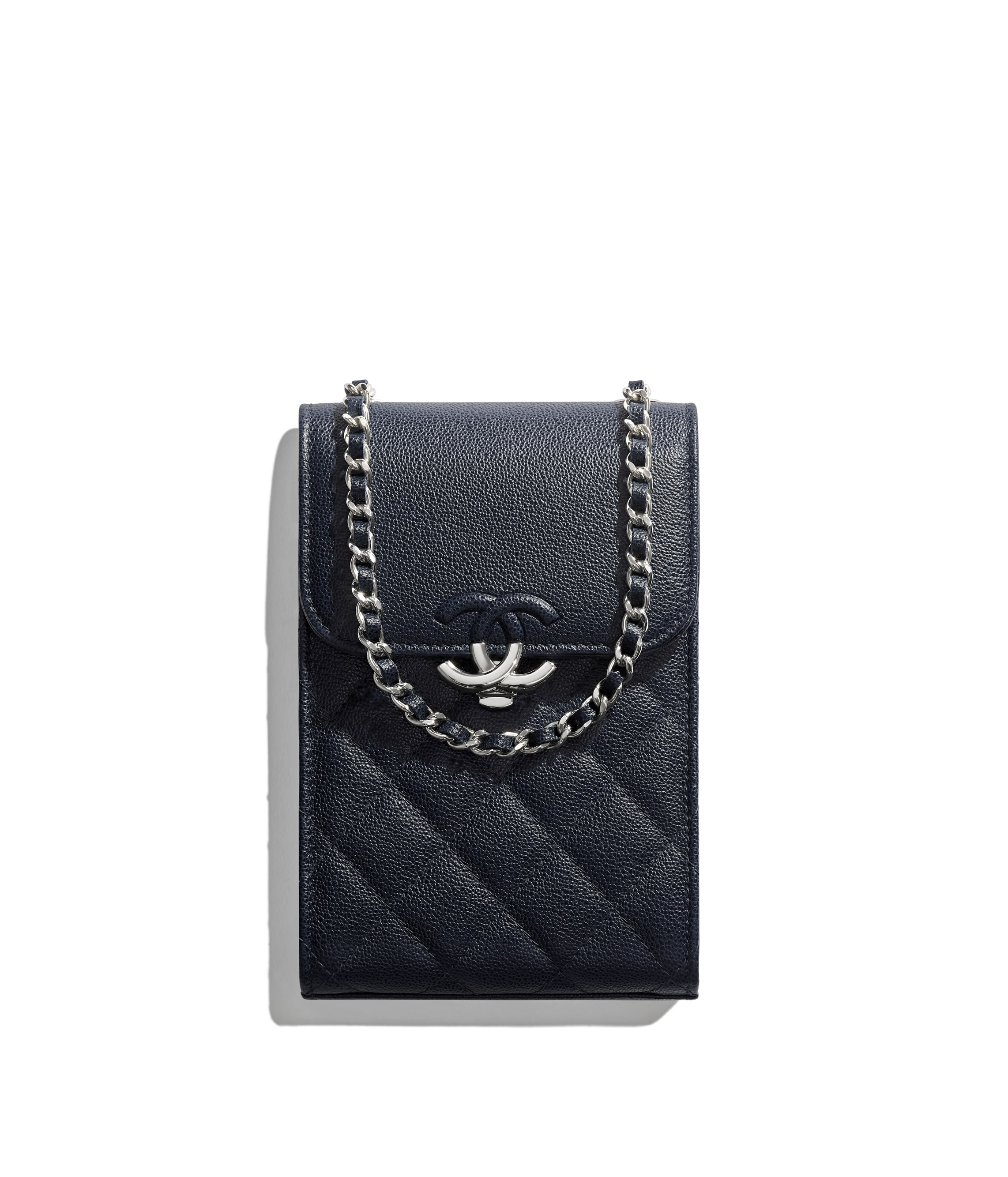 10e888135387 Chanel Caviar Quilted Wallet On Removable Chain Black - Best Photo ...