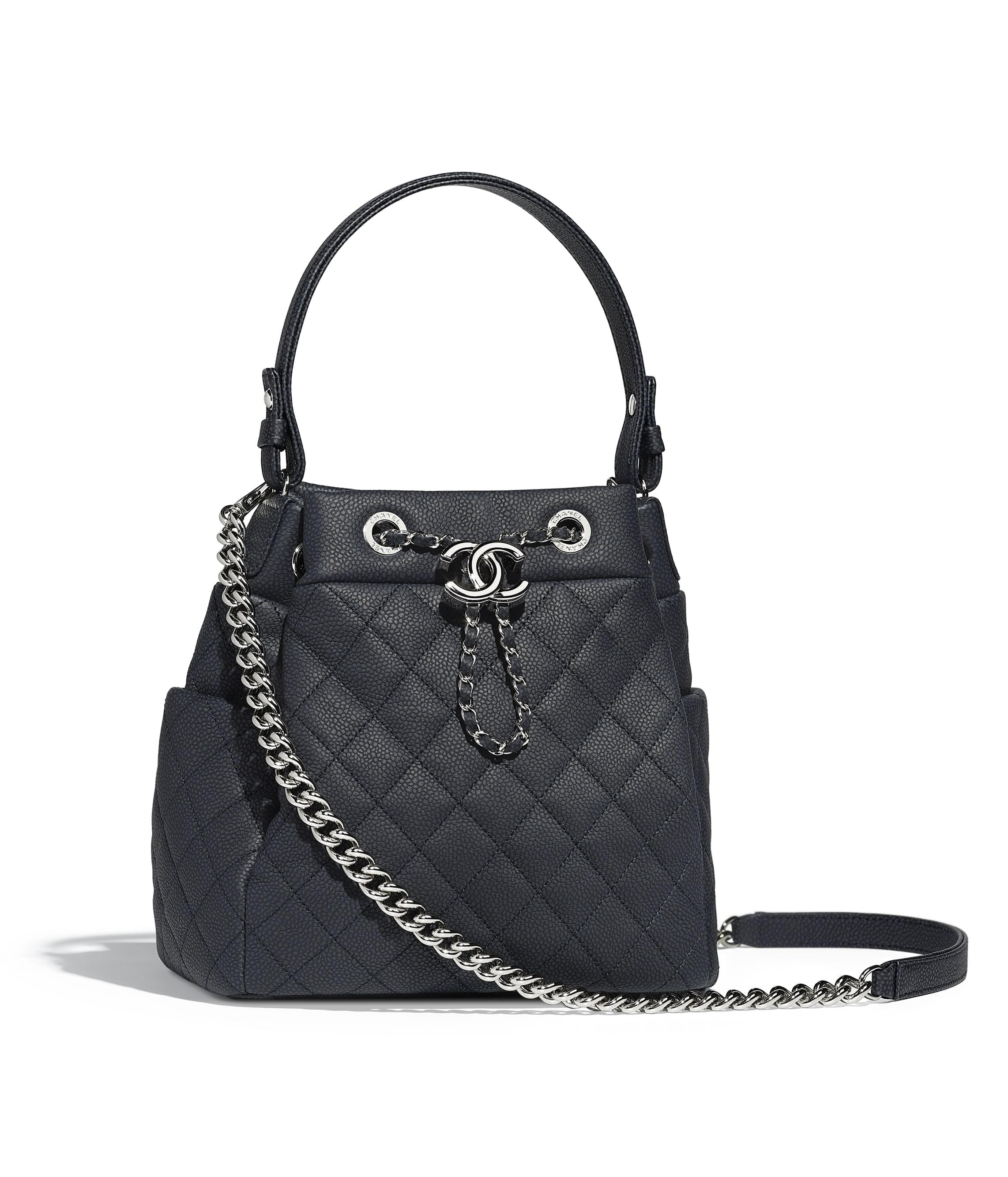 กระเป๋าถือแบบมีเชือกรูด