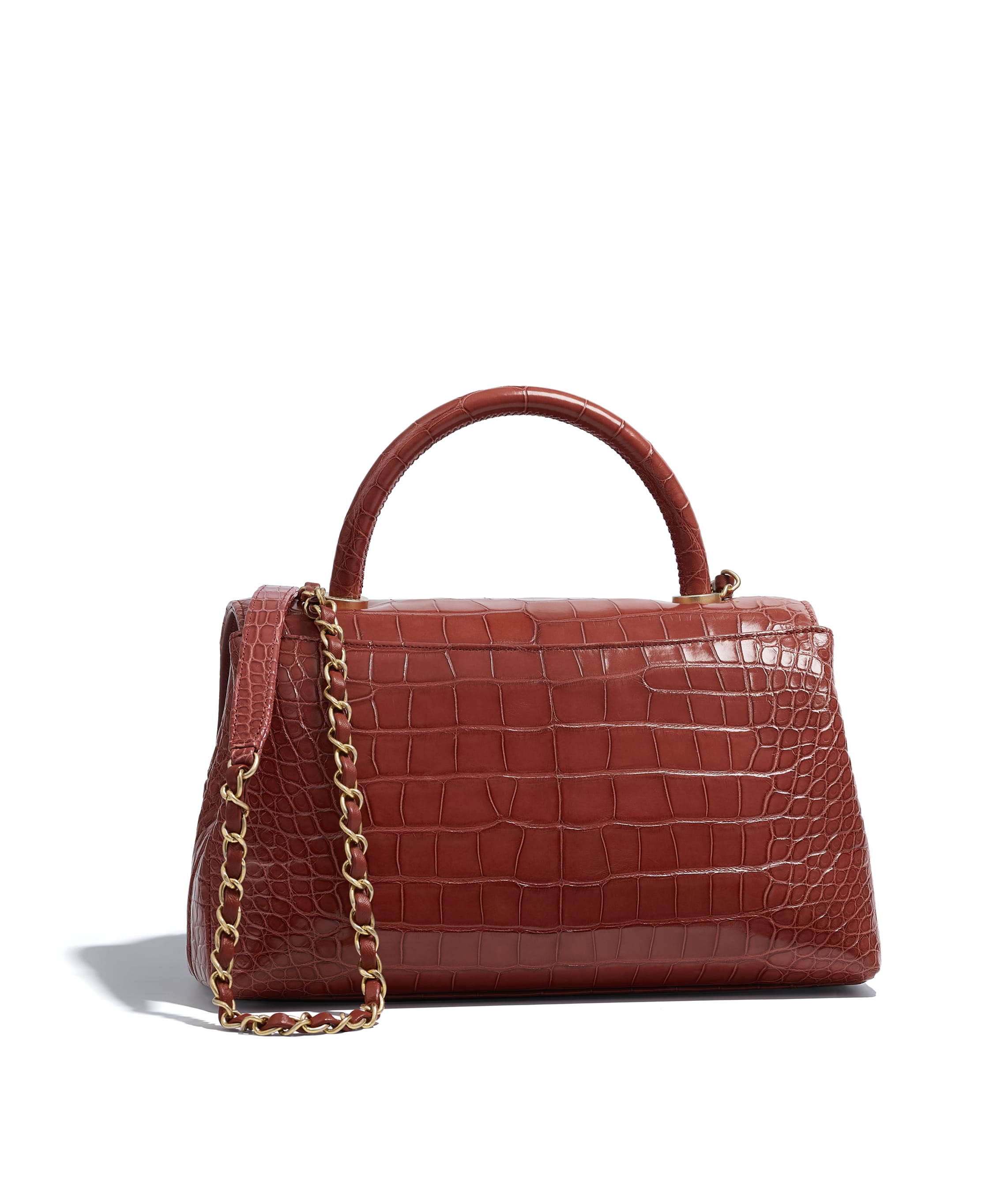 20116e0277d1 Chanel Flap Bag With Top Handle Alligator | Stanford Center for ...