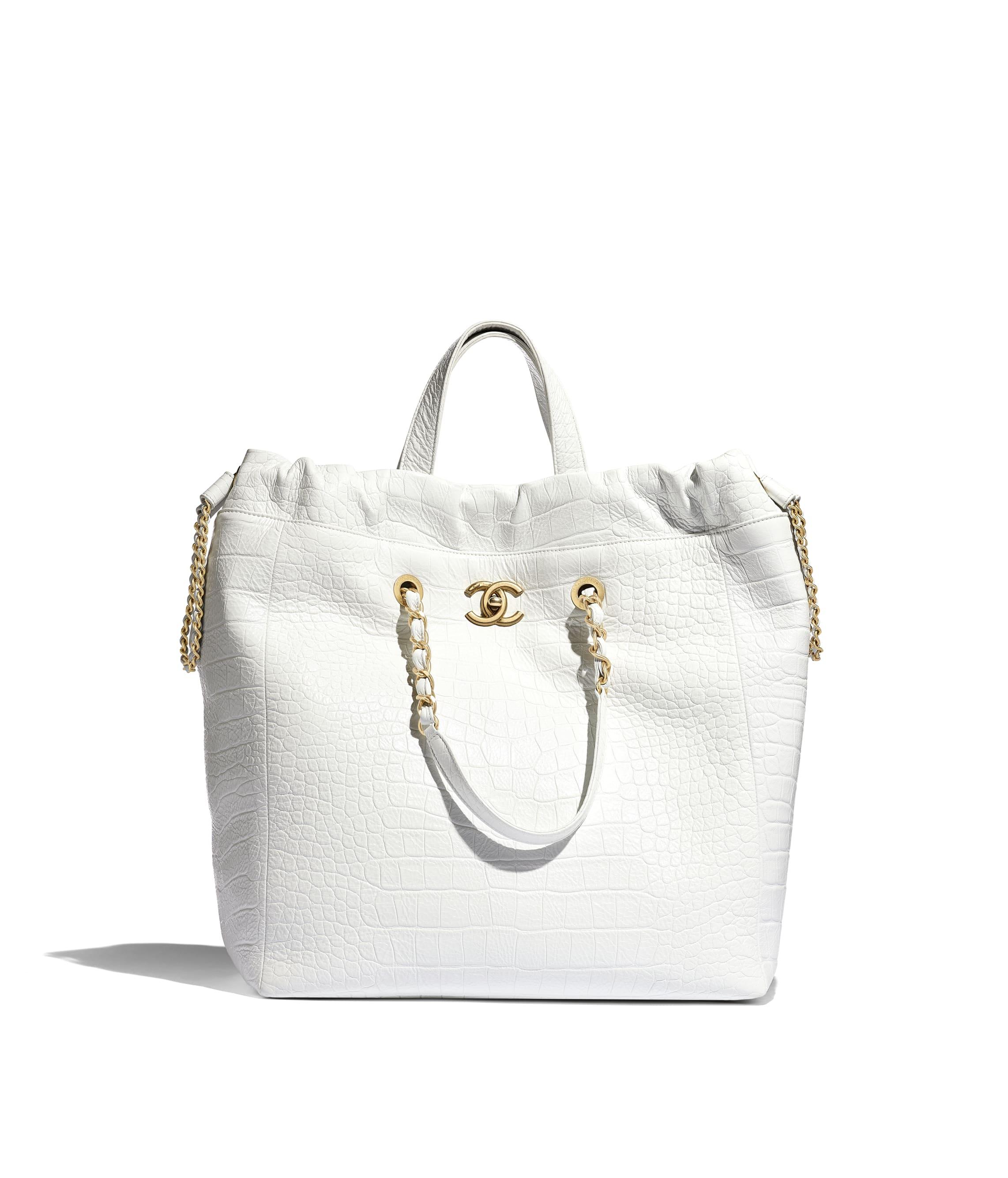 53f769f4abc1 Large Shopping Bag. Crocodile Embossed Printed…