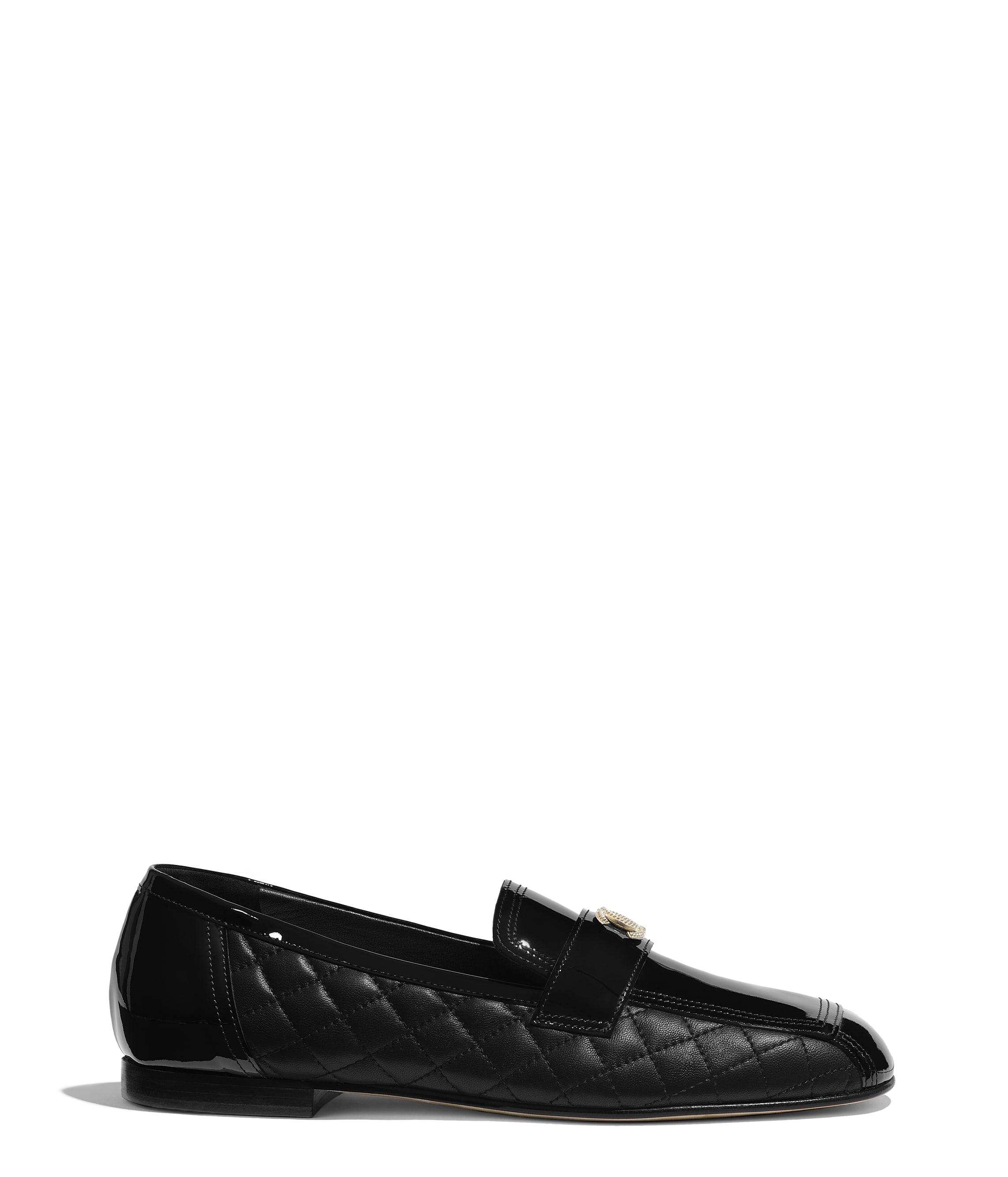 a97d60b6c7e Loafers. Patent Calfskin   Lambskin